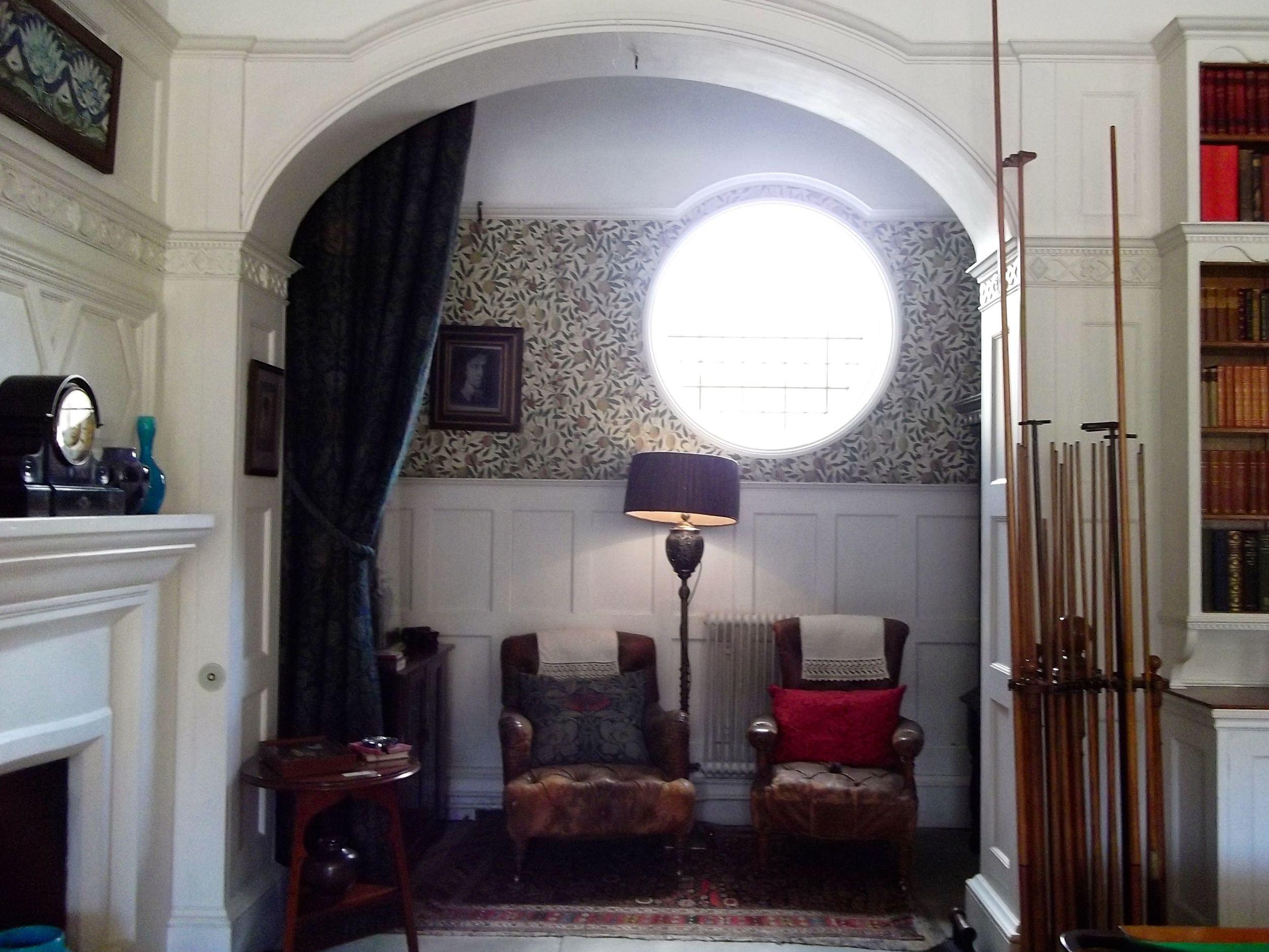 A COSY NOOK IN THE BILLIARD ROOM