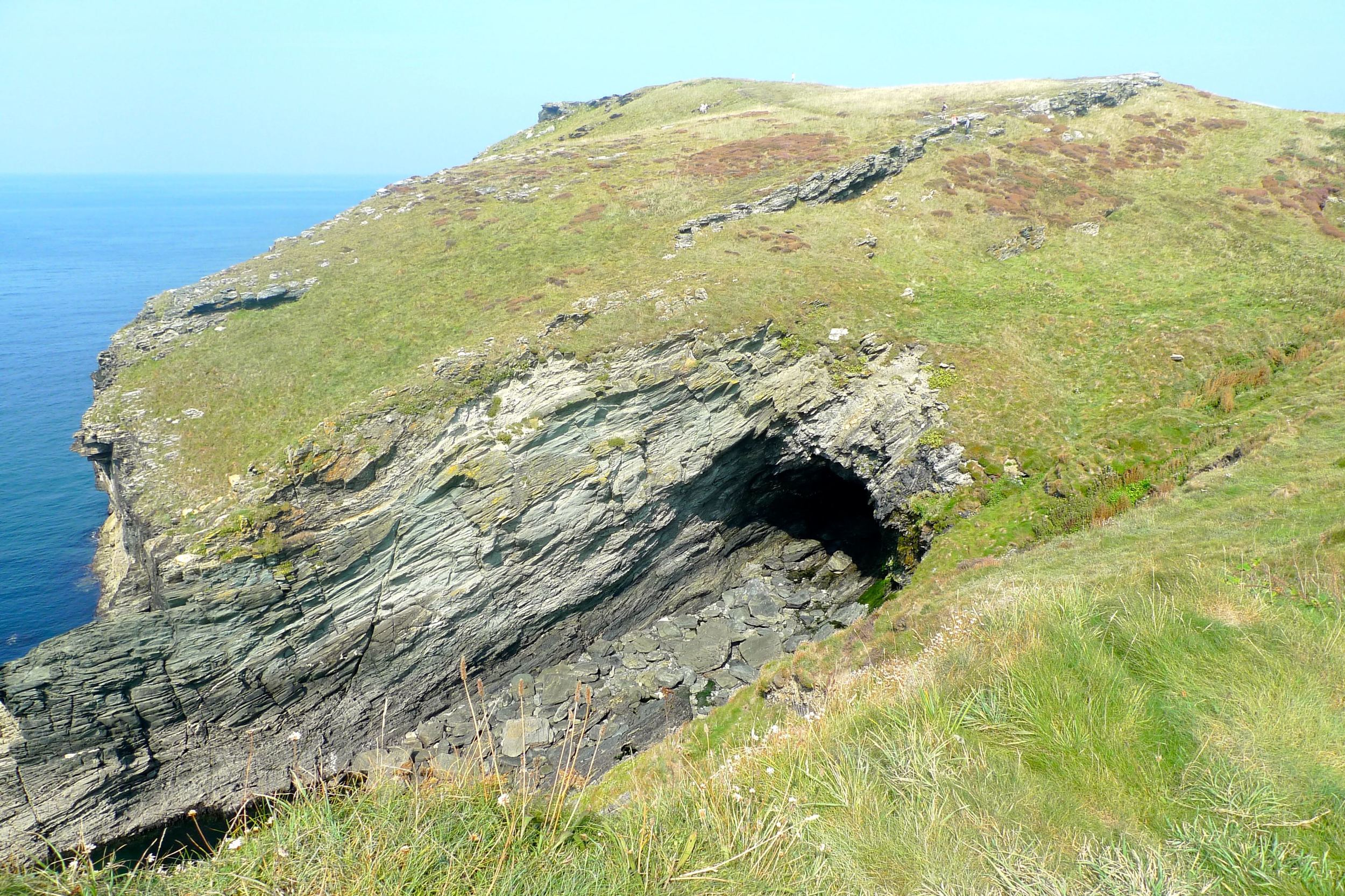 Cornish coastal views at Tintagel