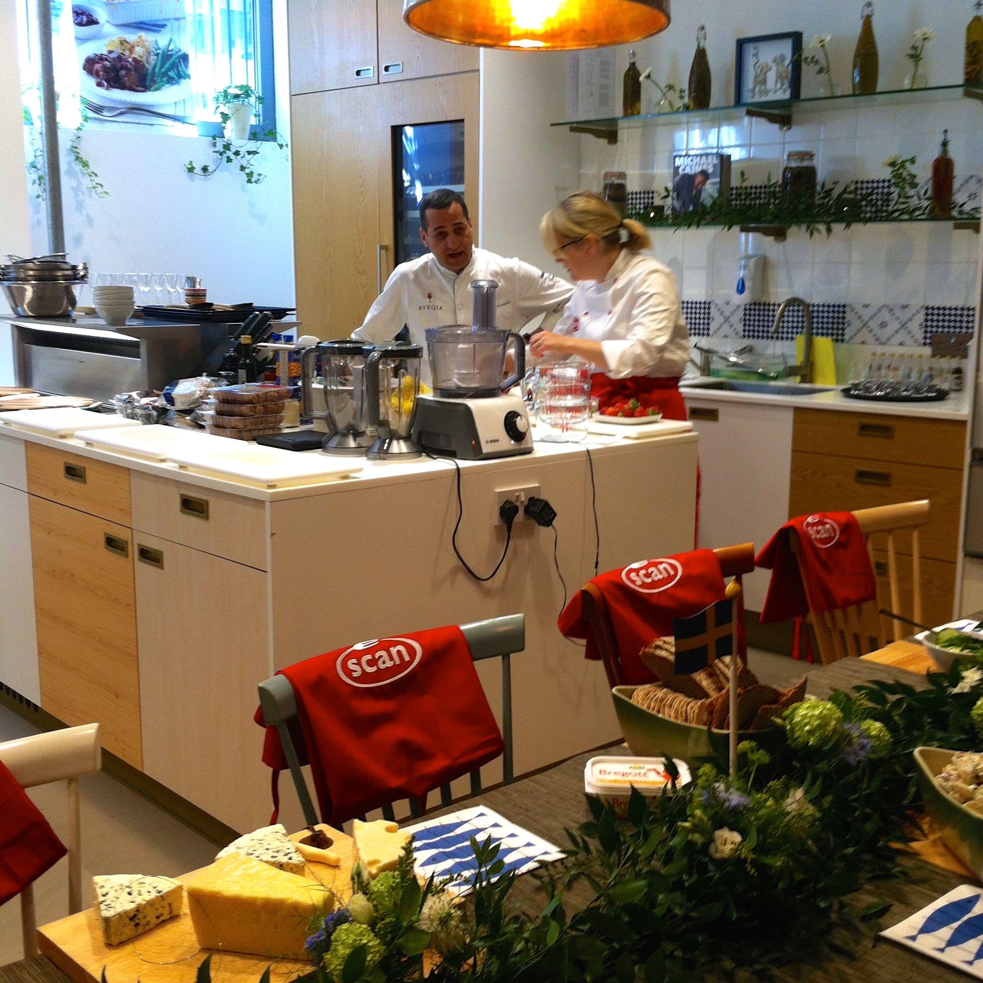 Swedish Midsummer kitchen chefs.jpg