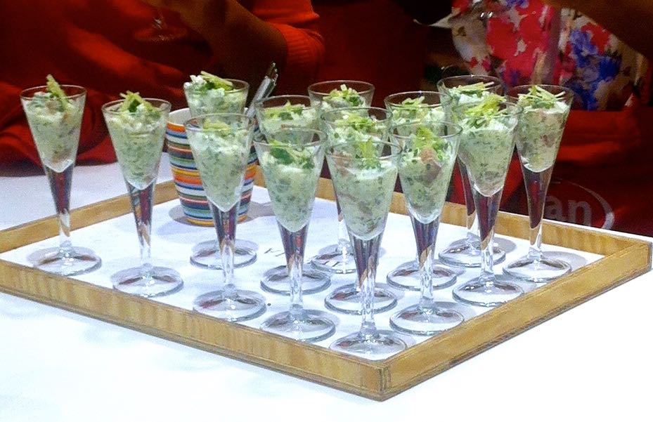 HERRING AND APPLE COCKTAIL