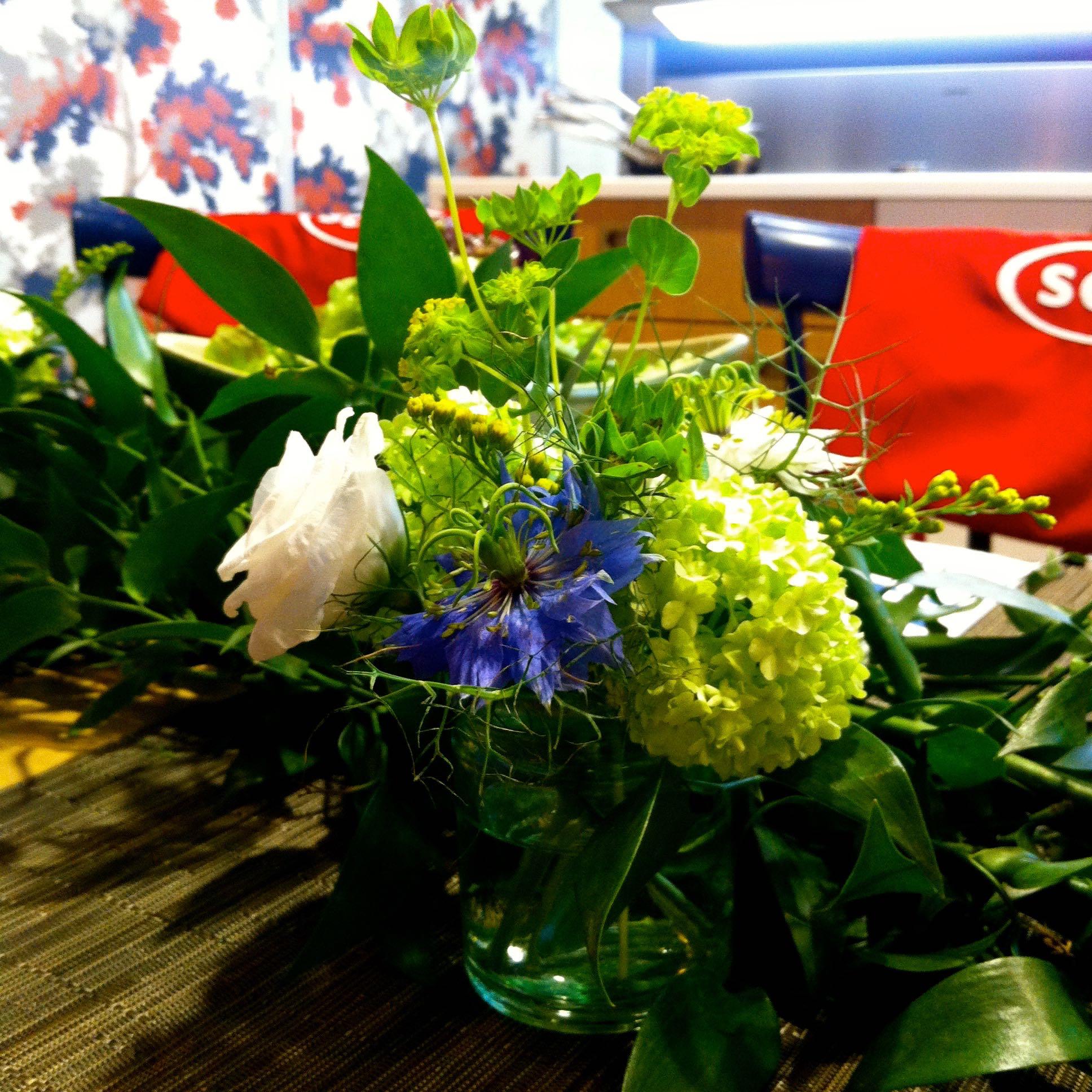 Swedish Midsummer table decorations.jpg