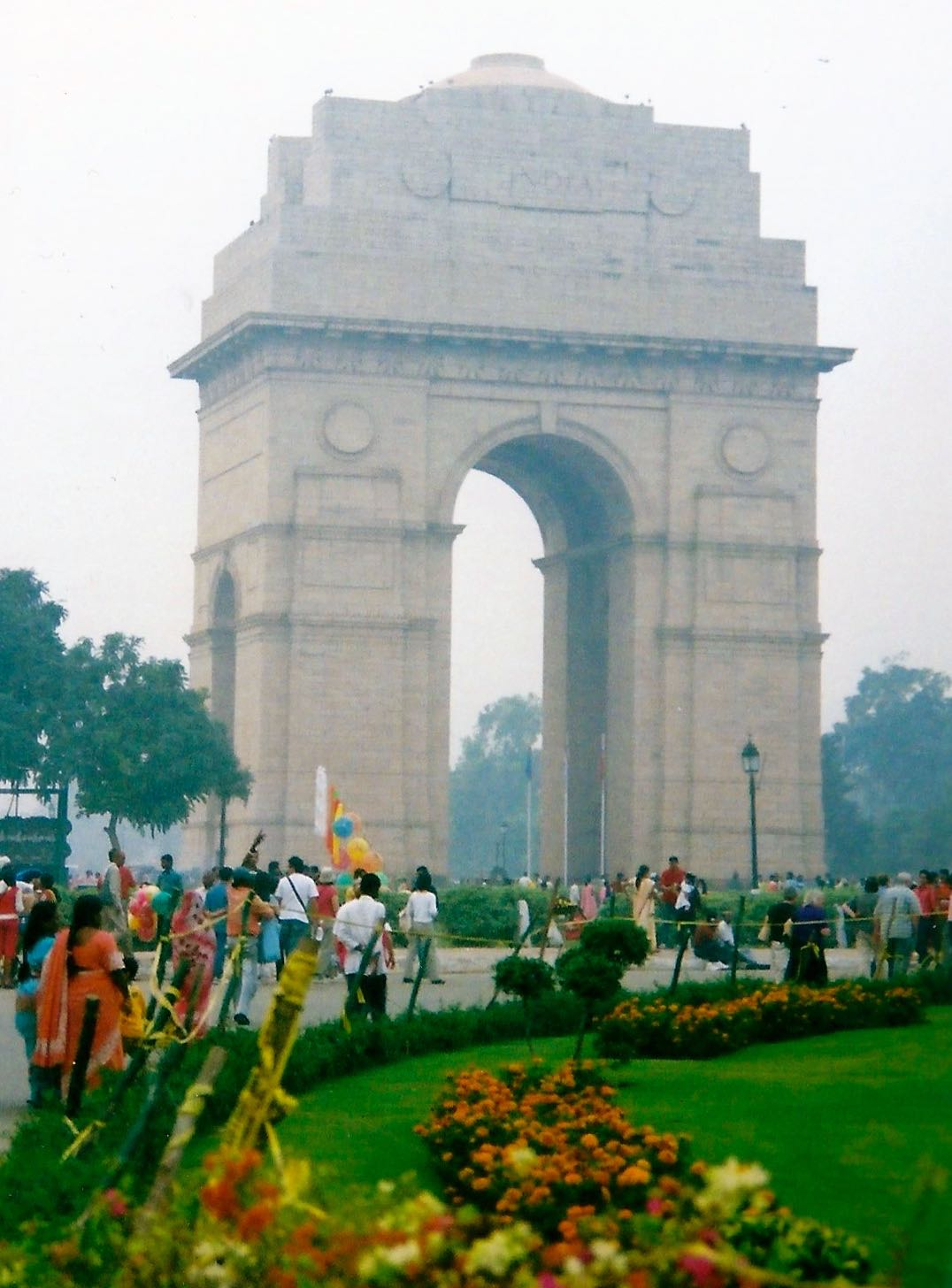 THE DEHLI MEMORIAL OR INDIA GATE DESIGNED BY SIR EDWARD LUTYENS