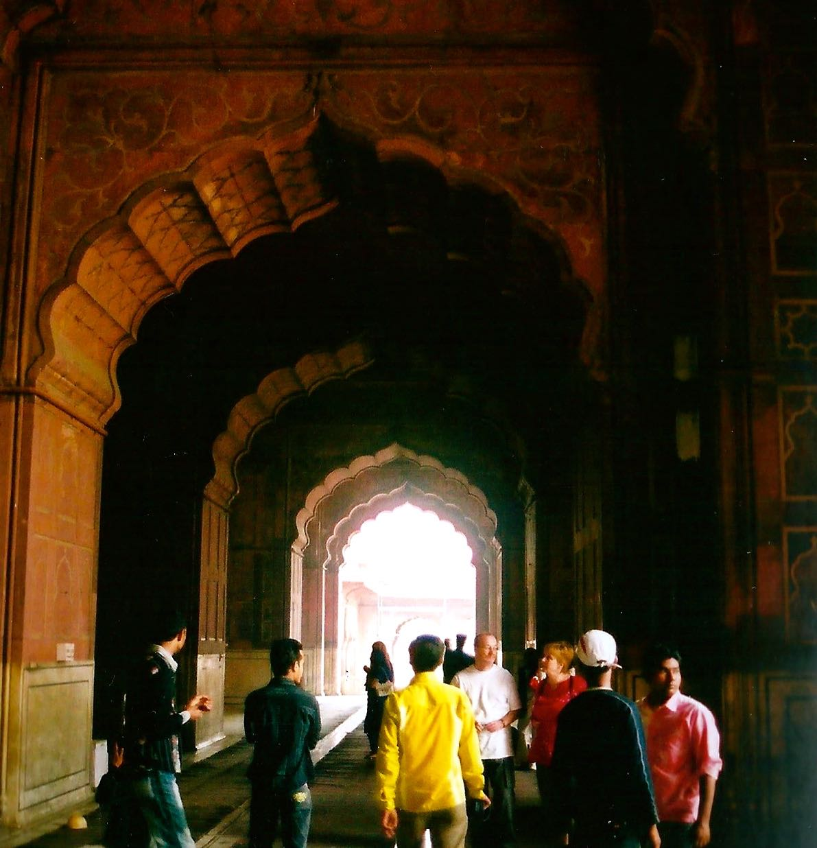 THE LAHORE GATE, ENTRANCE TO THE RED FORT IN DEHLI