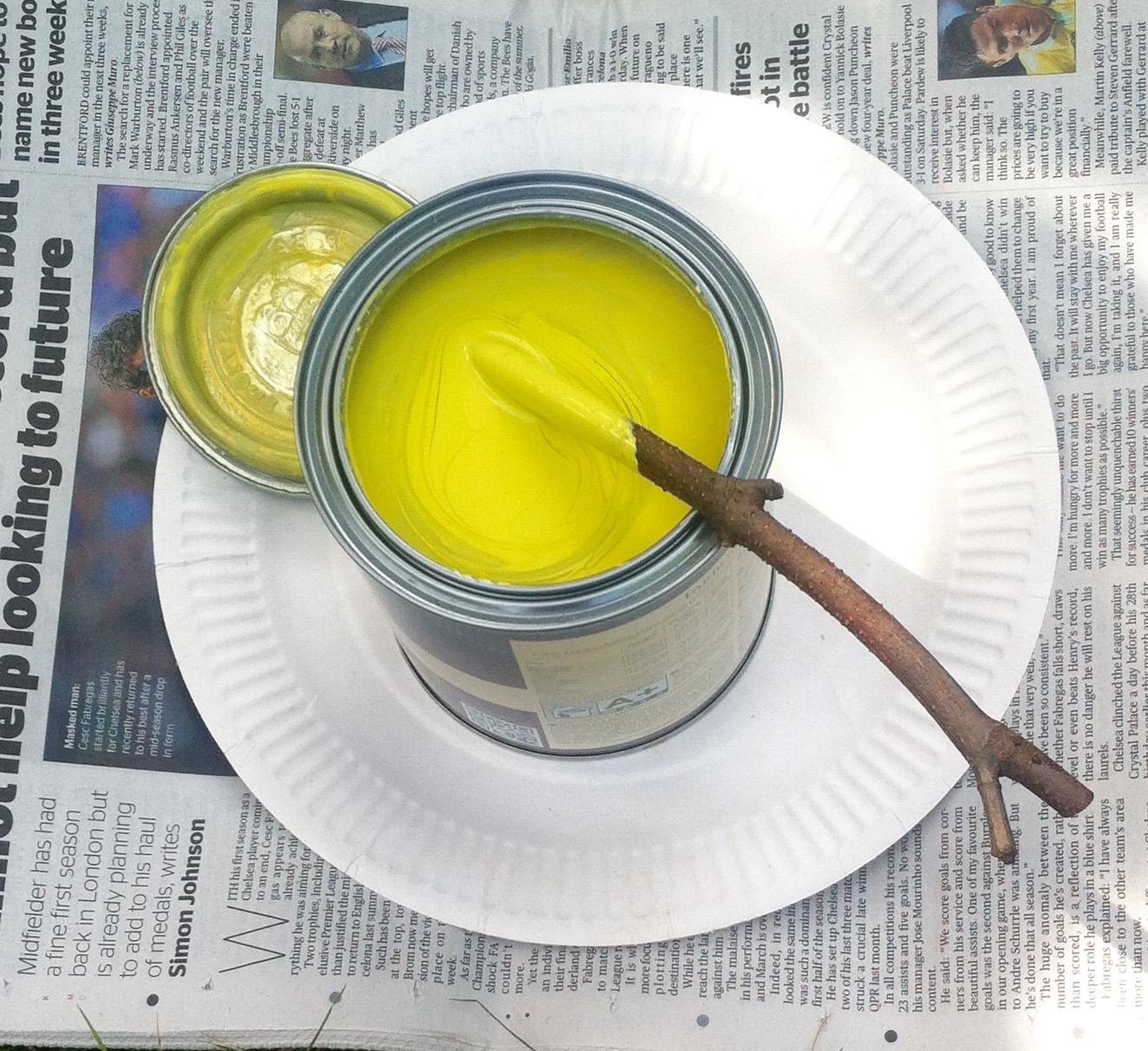 STIRRING THE PAINT: YELLOWCAKE