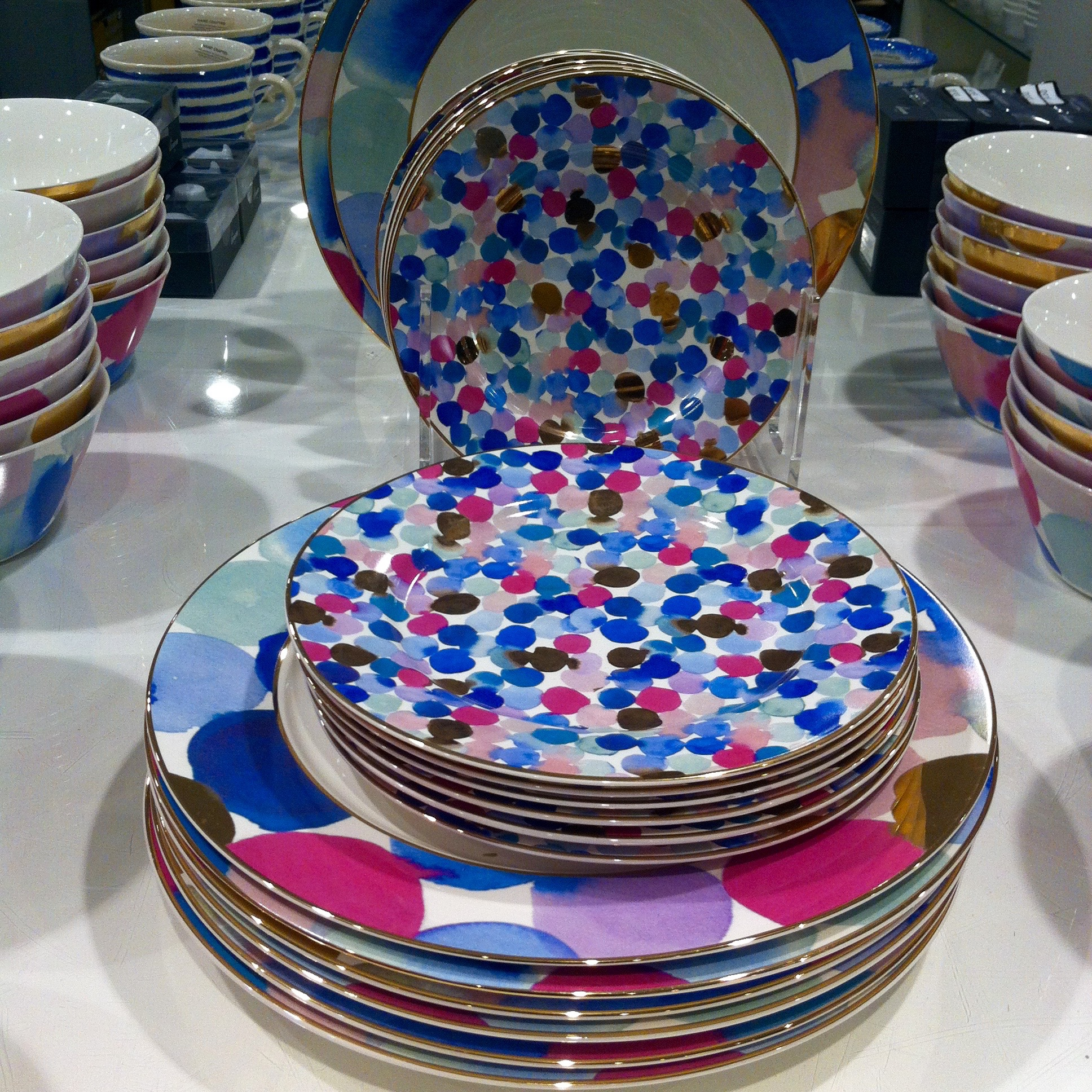 SPOTTY CROCKERY (HOUSE OF FRASER)