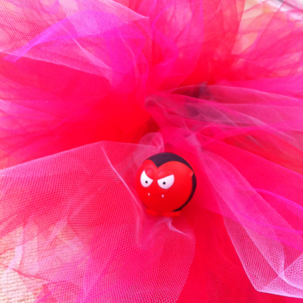 March: My tutu for the Comic Relief Danceathon