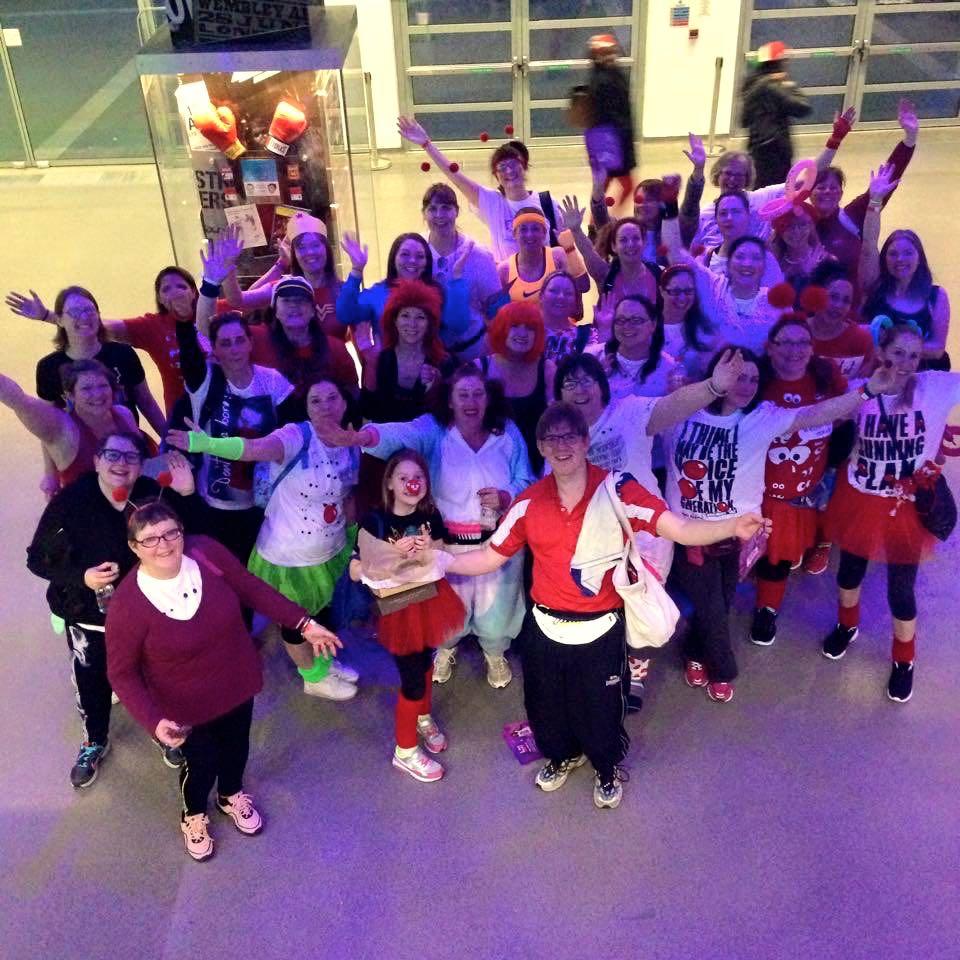 March: Team Honk at the Danceathon