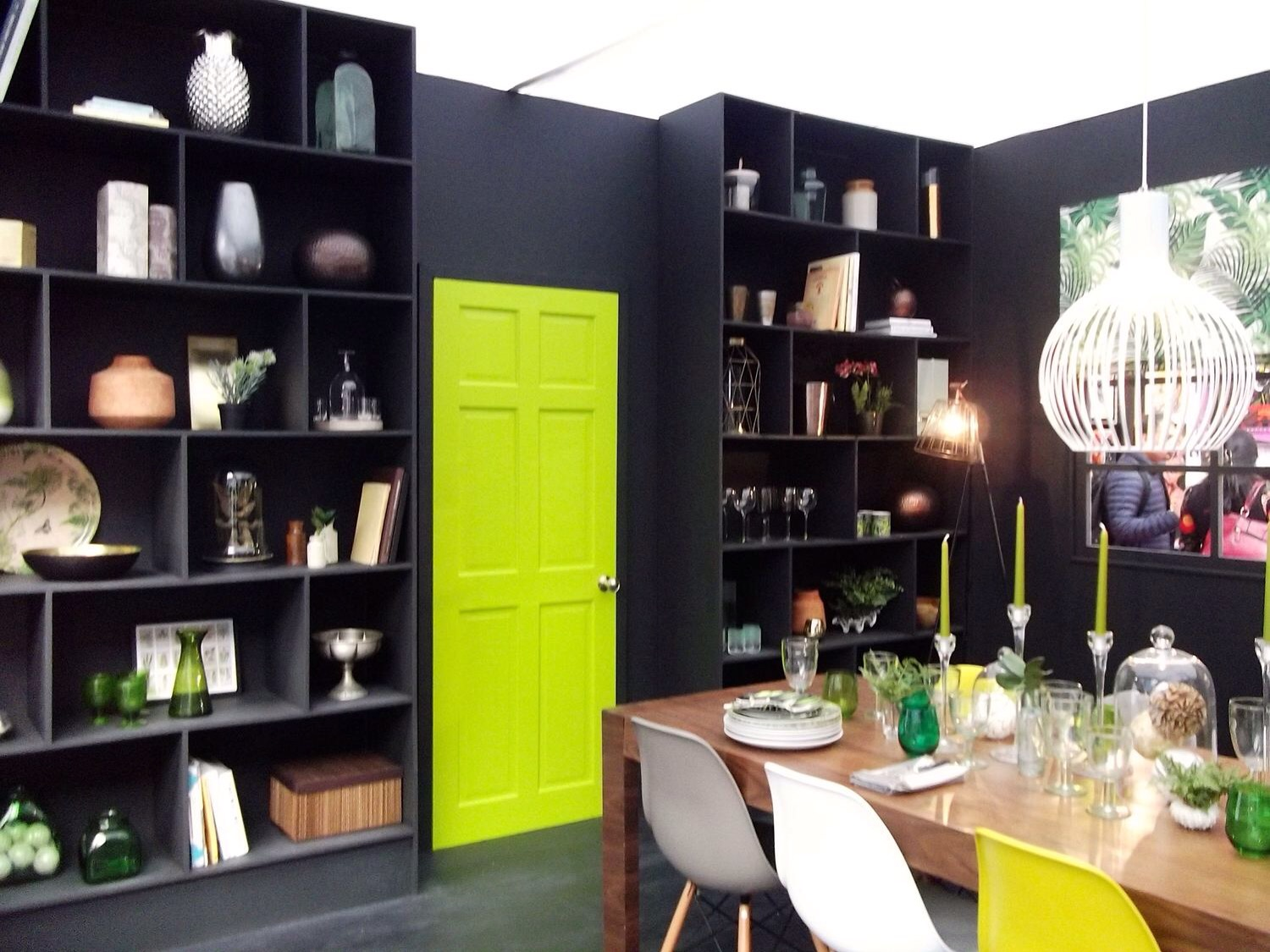 April: Room sets at the Ideal Home Show