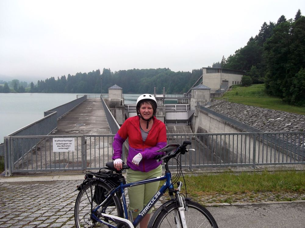 June: Our first day cycling in Bavaria