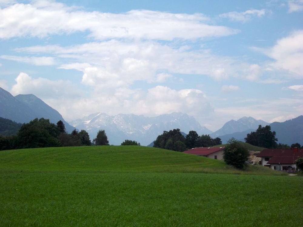 June: Ah, the fresh air in Murnauer Moos