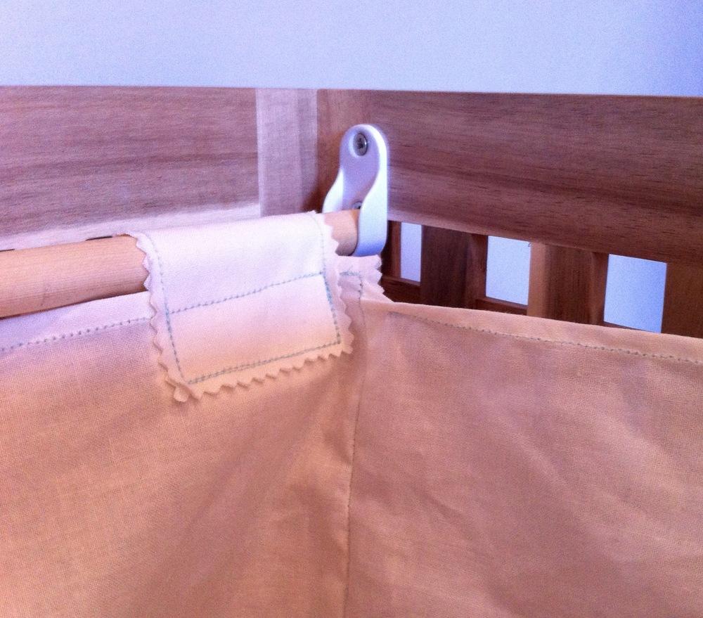 September: My IKEA hack of a laundry basket