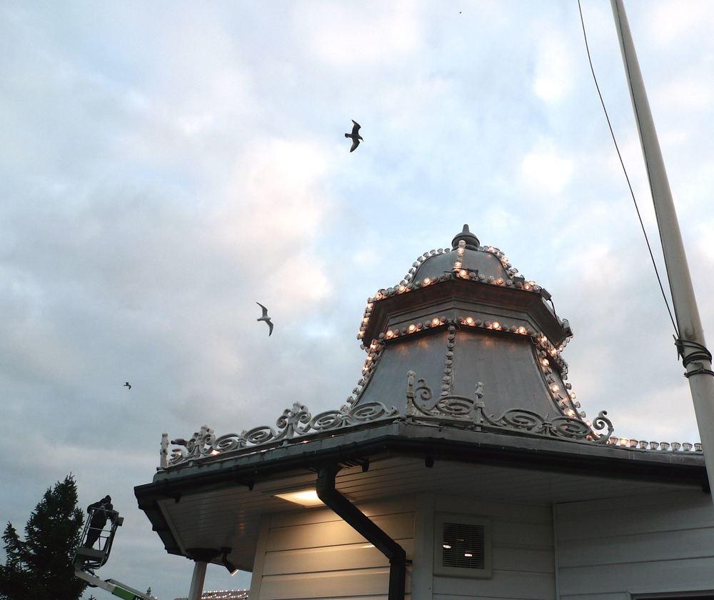 December: A stroll along Brighton Pier
