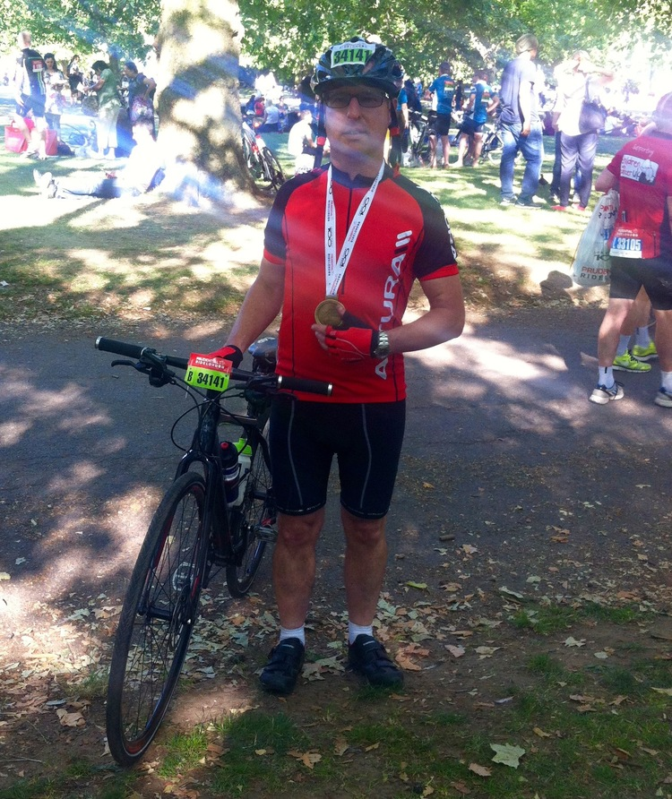 MOH WITH HIS MEDAL