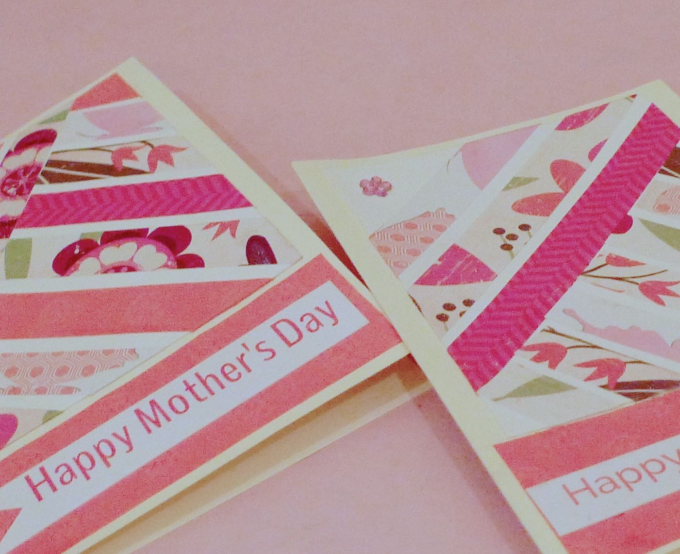 Mothers Day card close-up