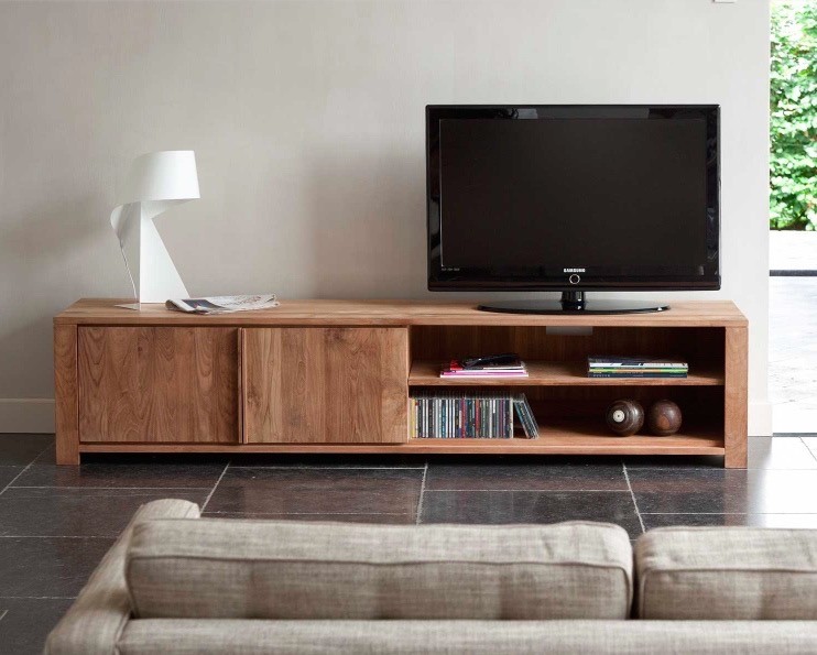 TEAK LODGE TV CUPBOARDS FROM £1099 Photo credit: AIF