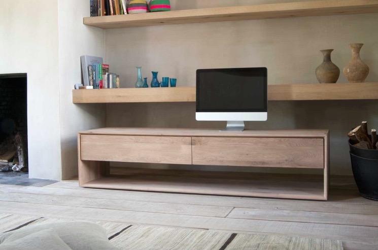 NORDIC OAK TV UNITS FROM £859