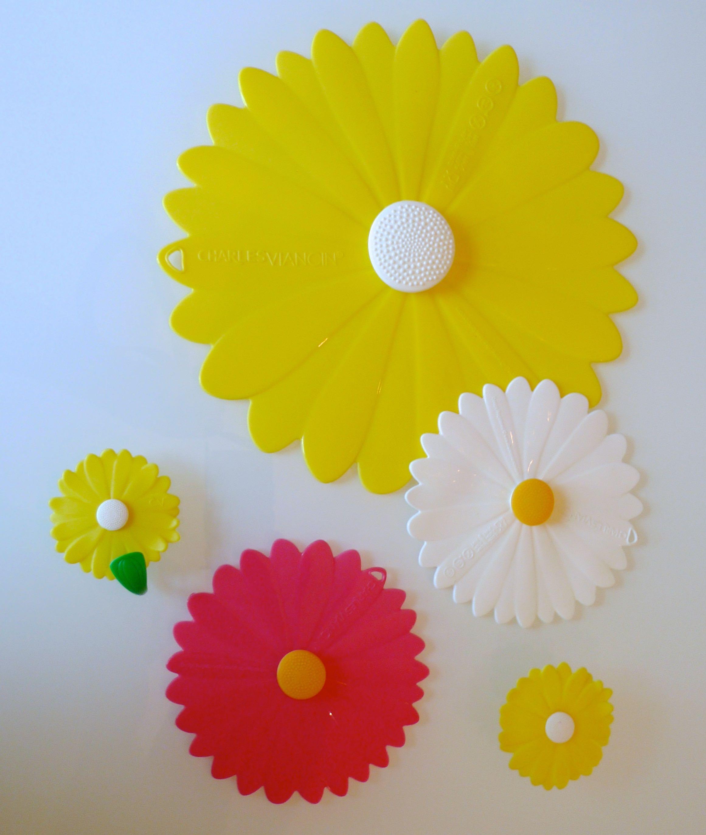daisy silicone lids