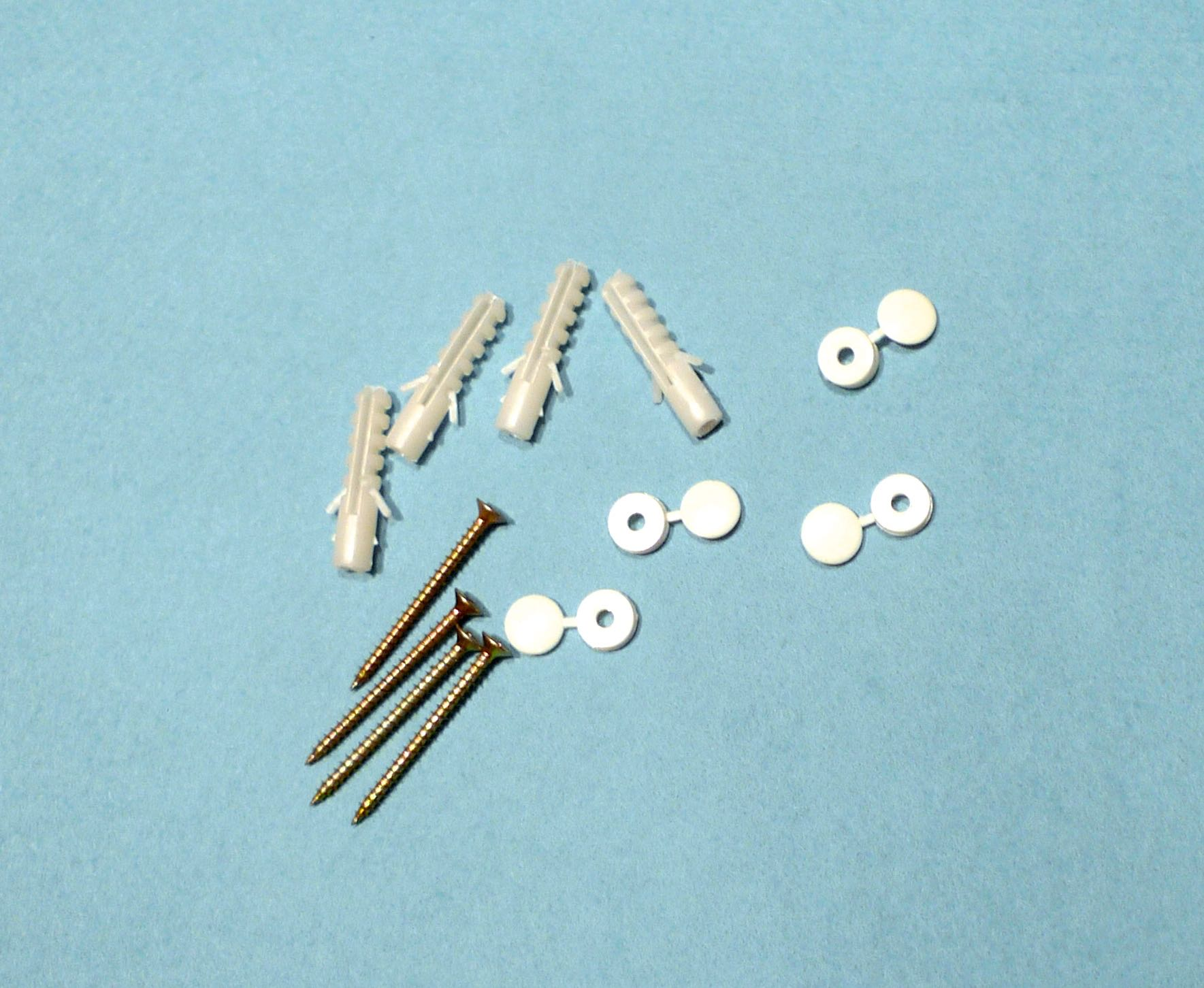 FIXINGS SUPPLIED