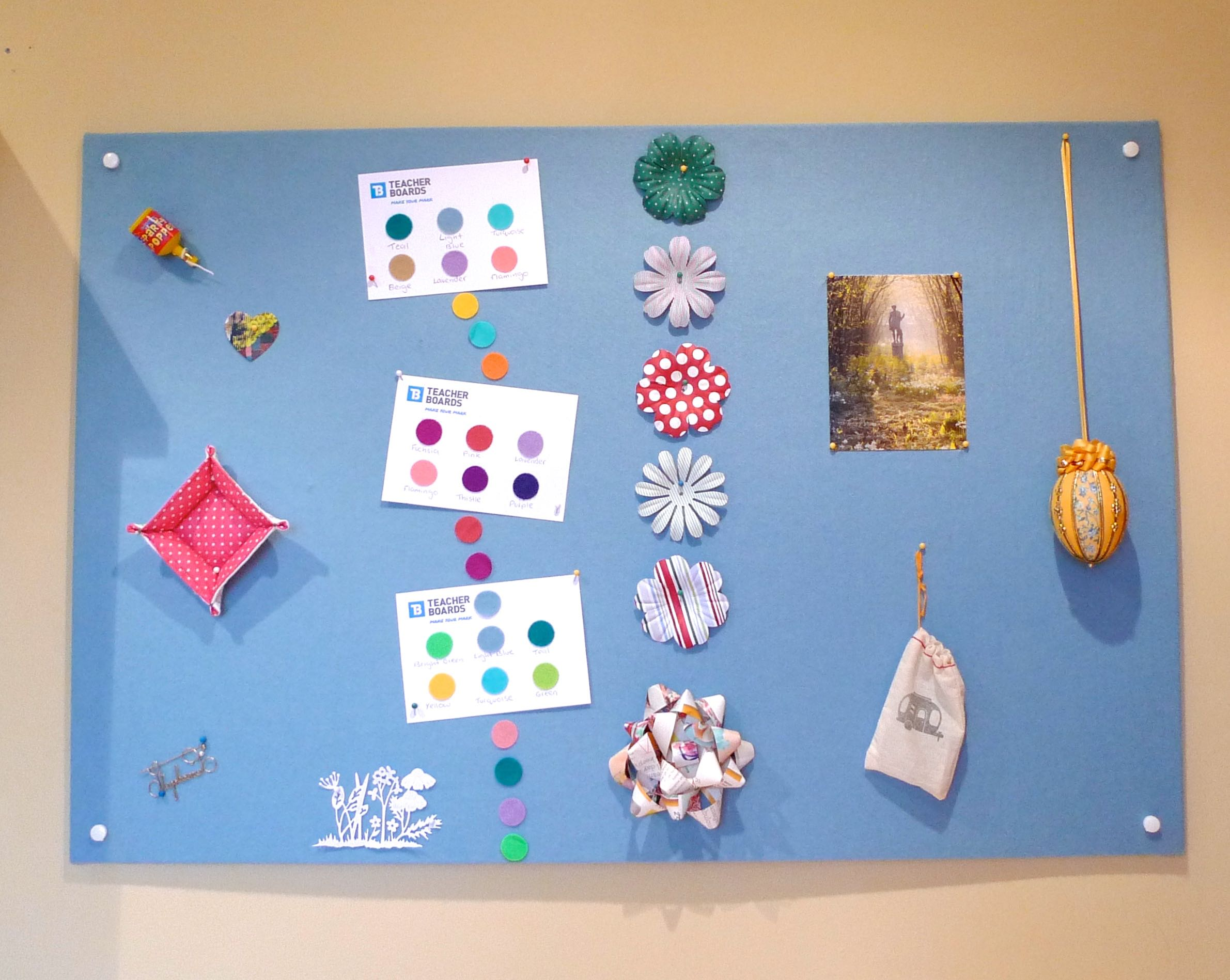 DECORATED RAINBOW BOARD