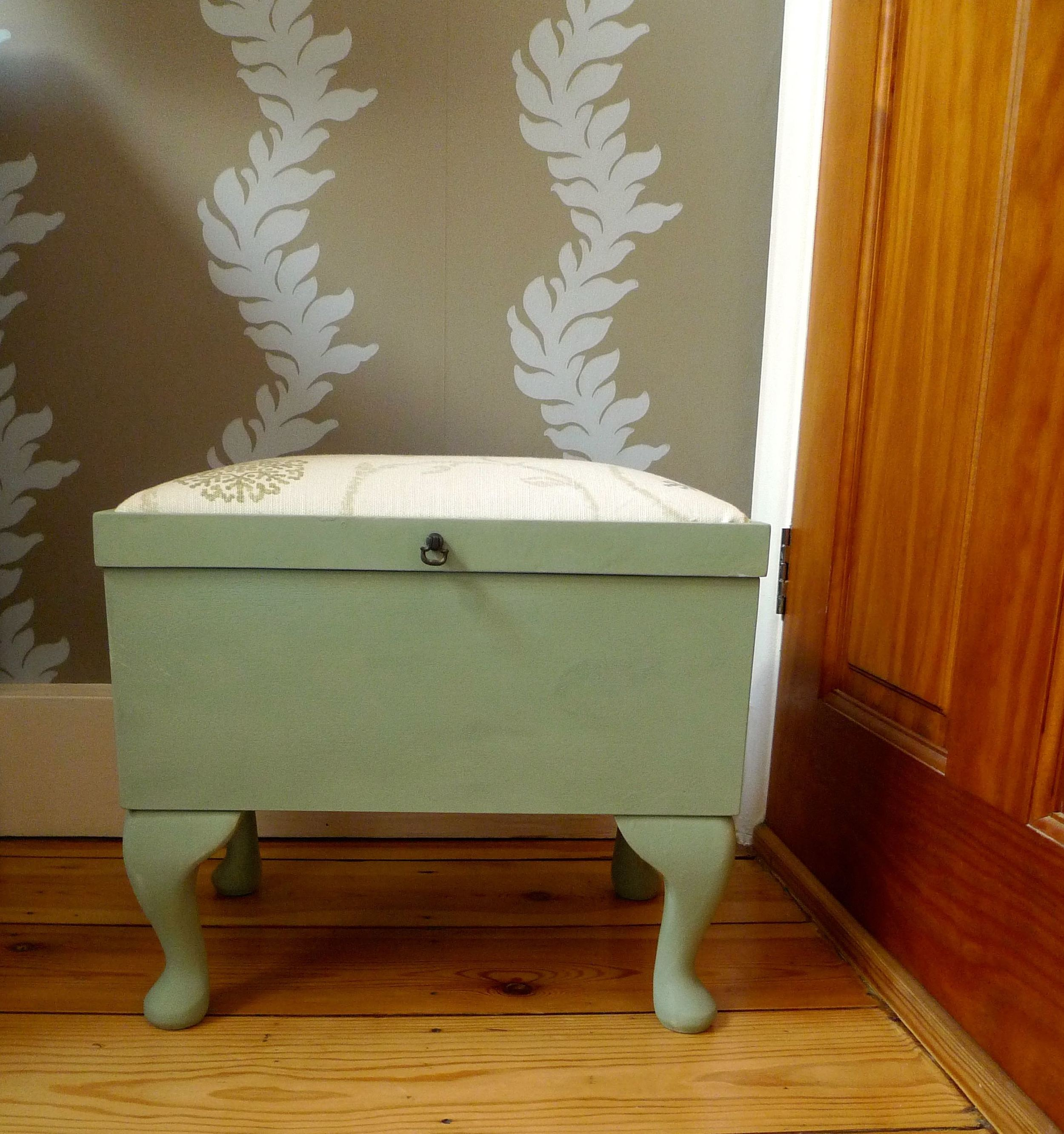 FINISHED SEWING STOOL