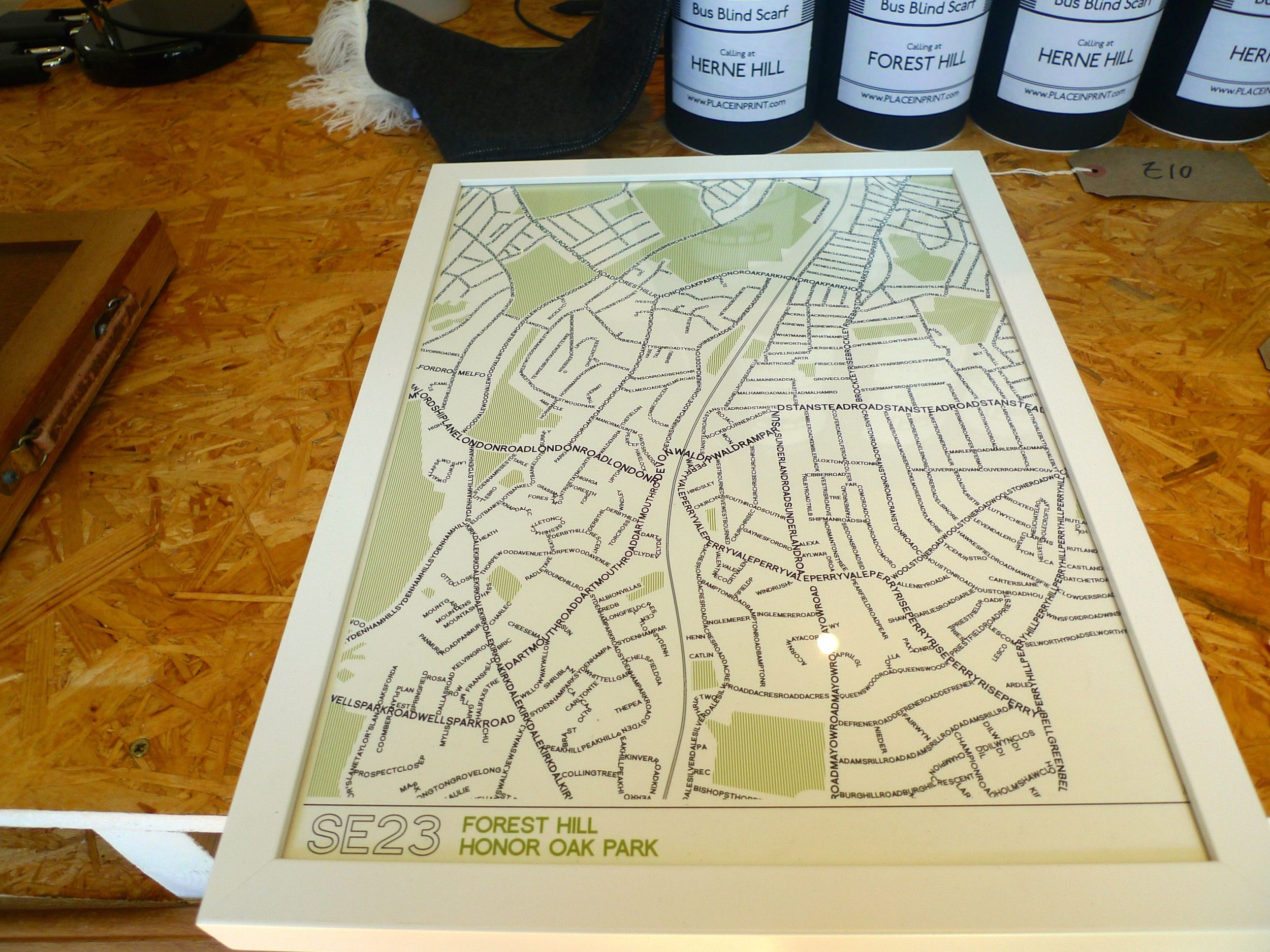 Place in Print SE23 map