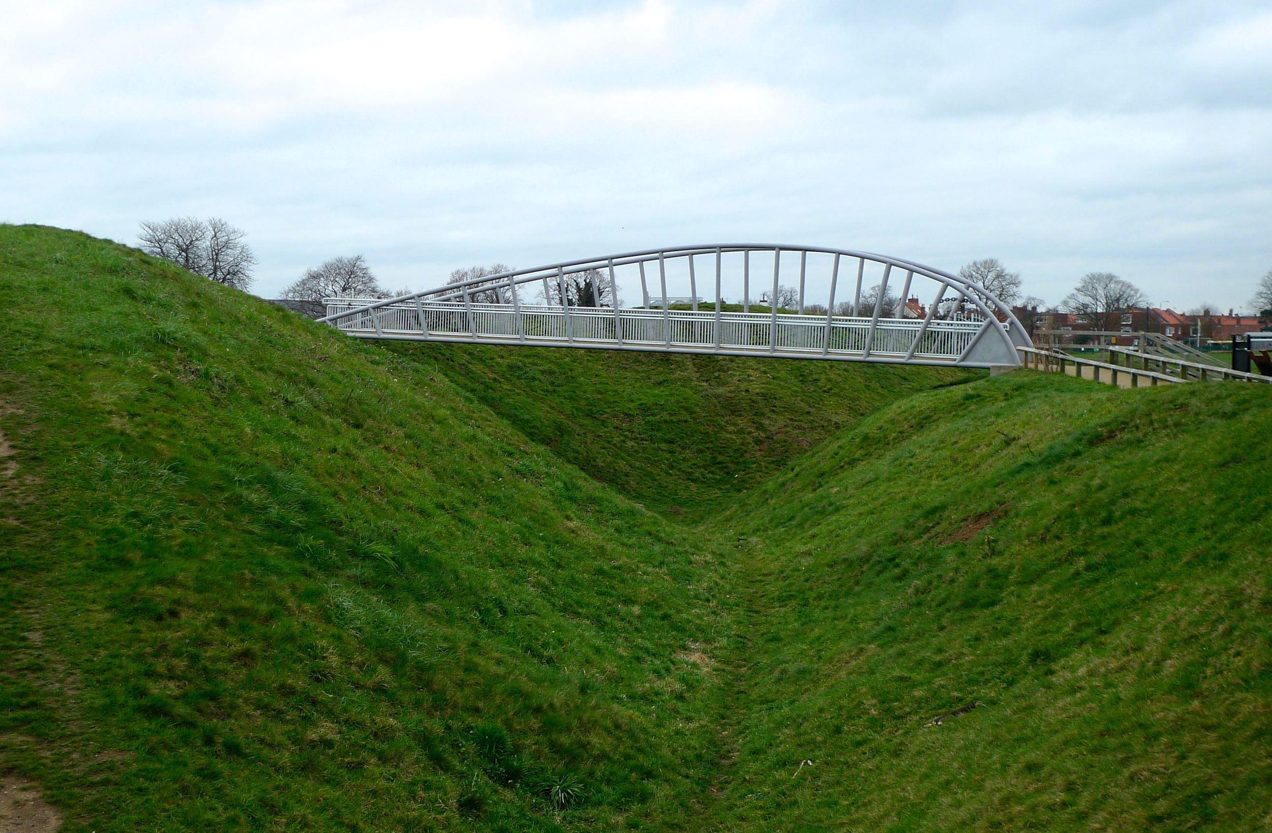 Ironwork bridge