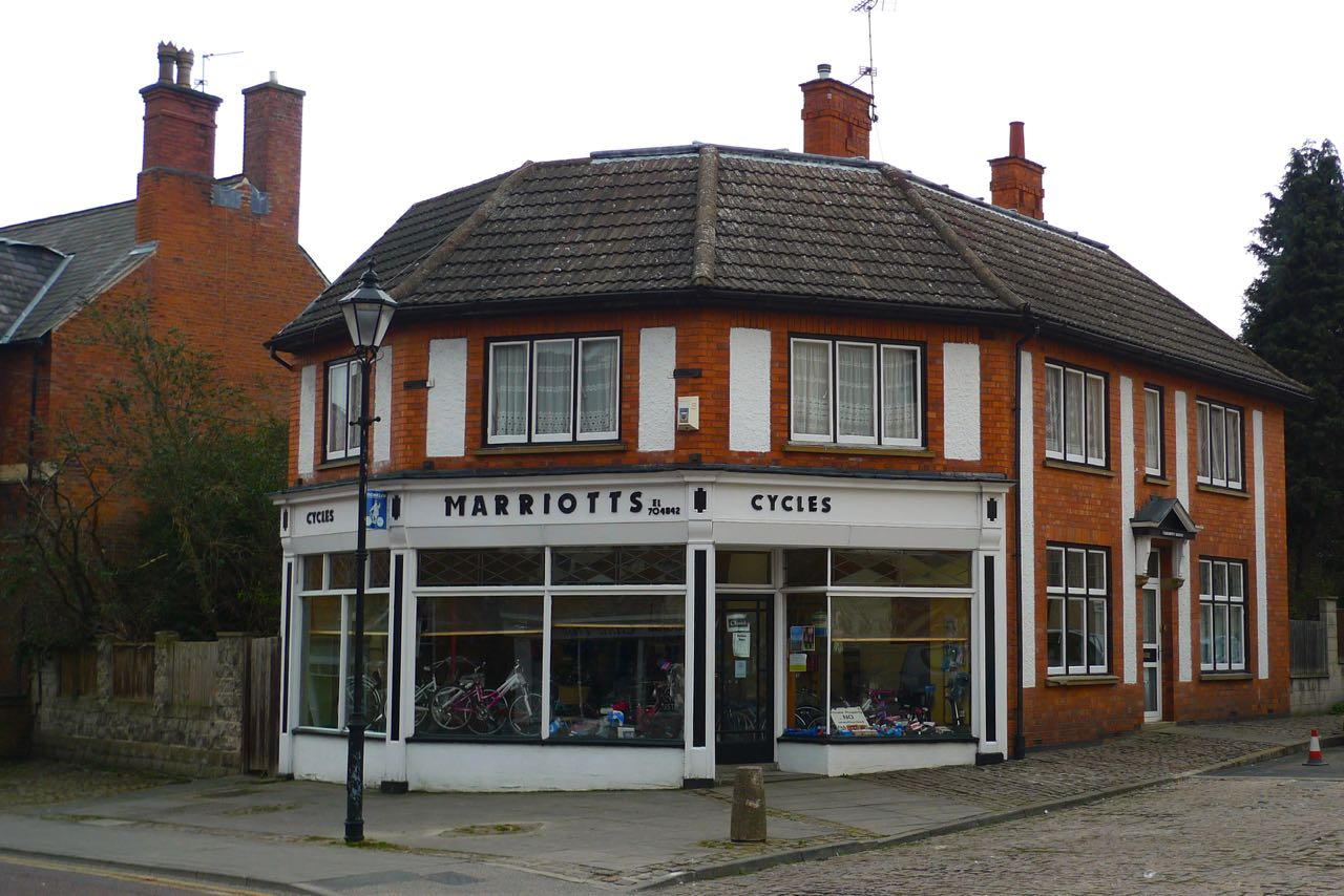 a traditional cycle shop