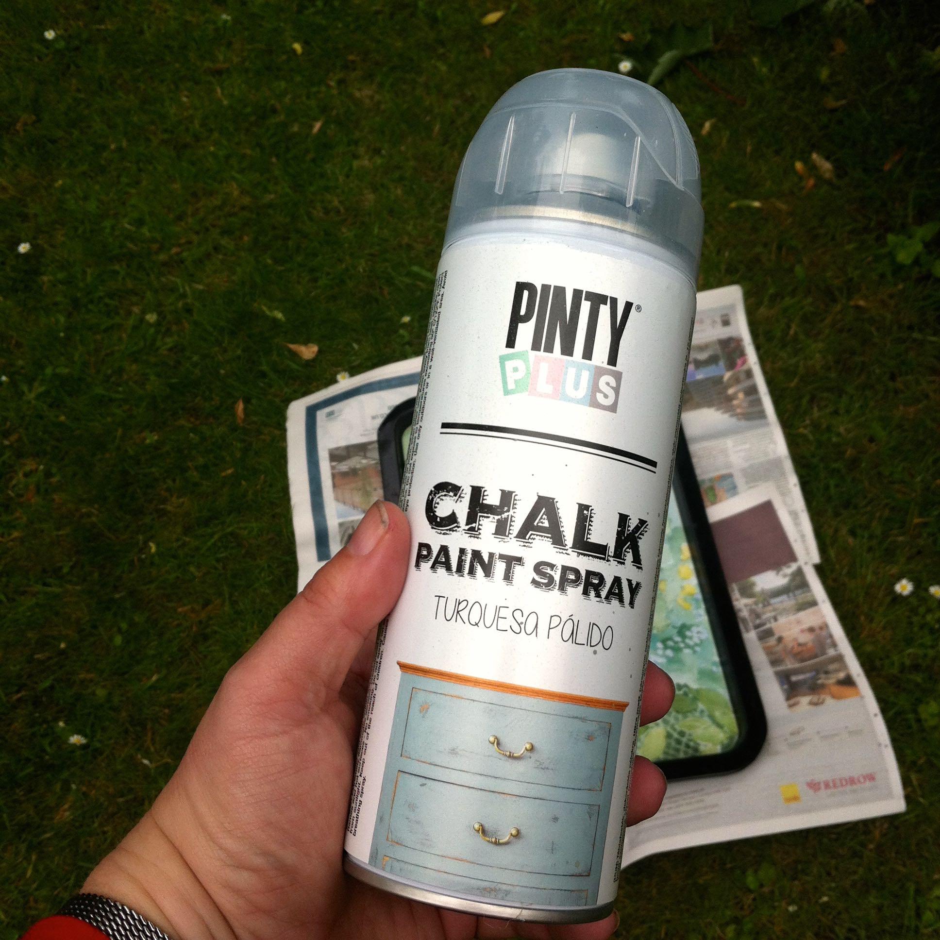 Pinty Plus Chalk Paint Spray Light Turquoise