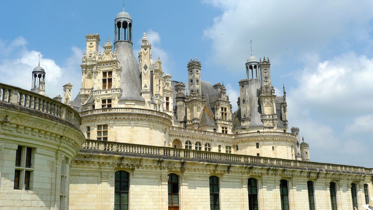 Getting a bit closer to Chambord and looking at the detail
