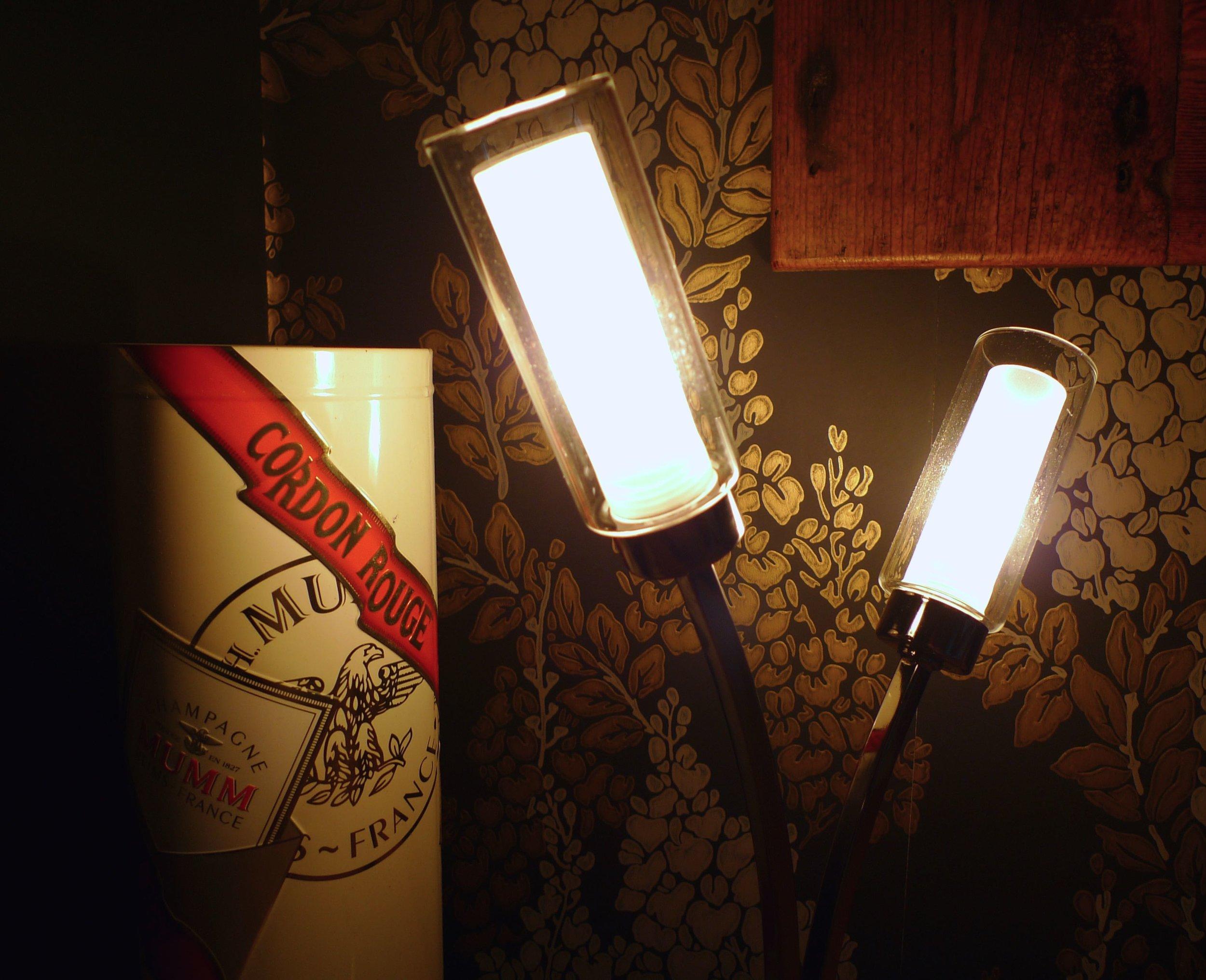 Lighting a darker corner in my bedroom