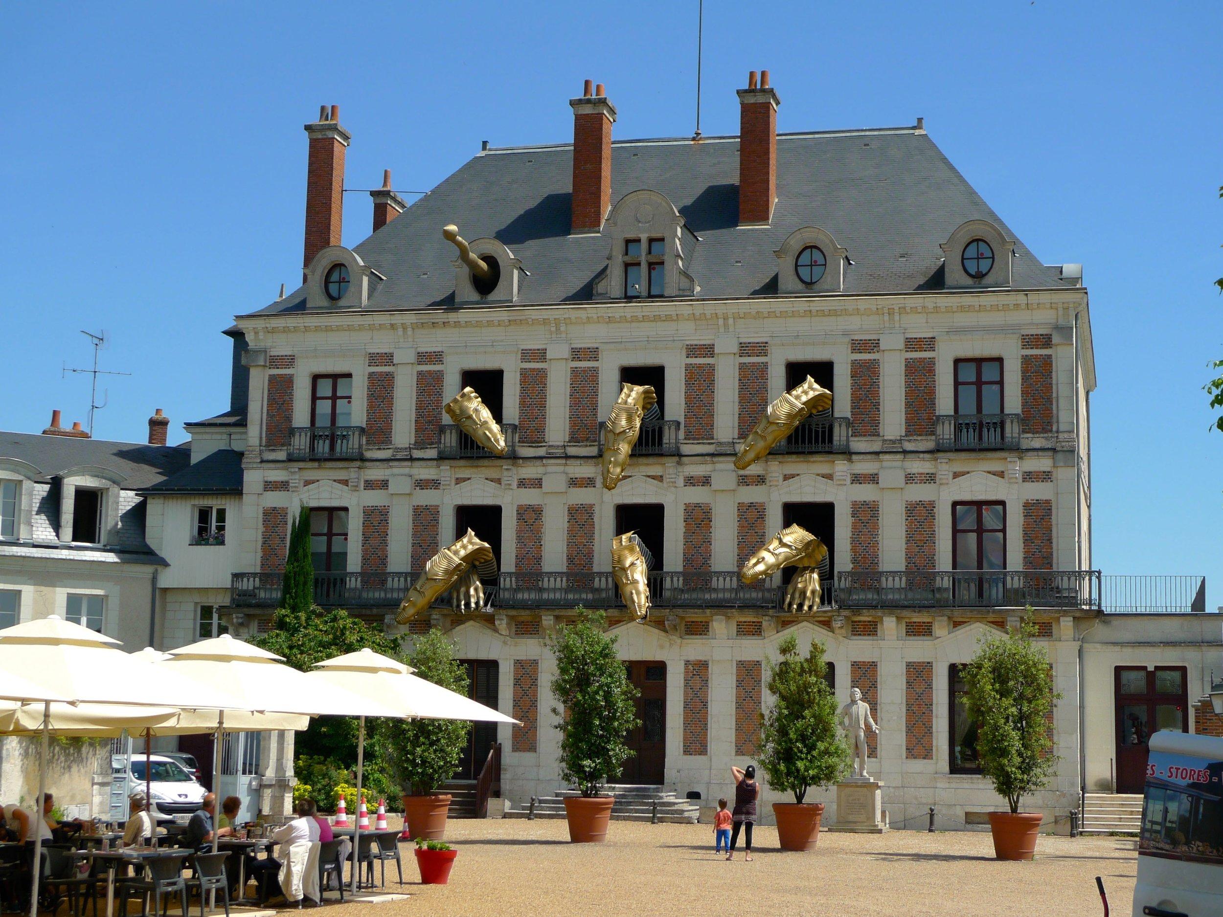 the museum of magic in blois