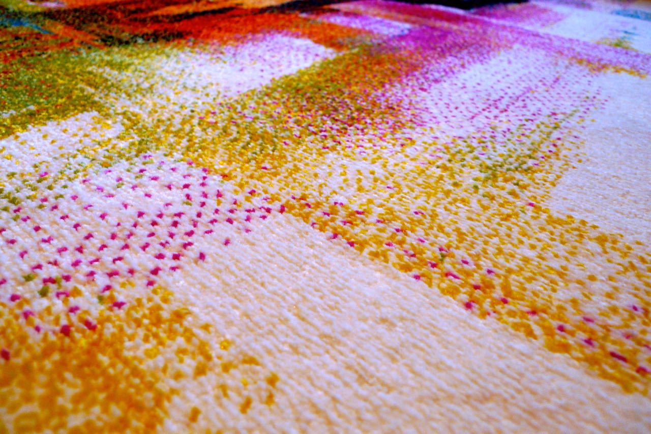 A close-up of the My Rug Store rug