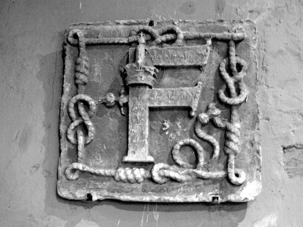 Royal emblem of Francois Ist