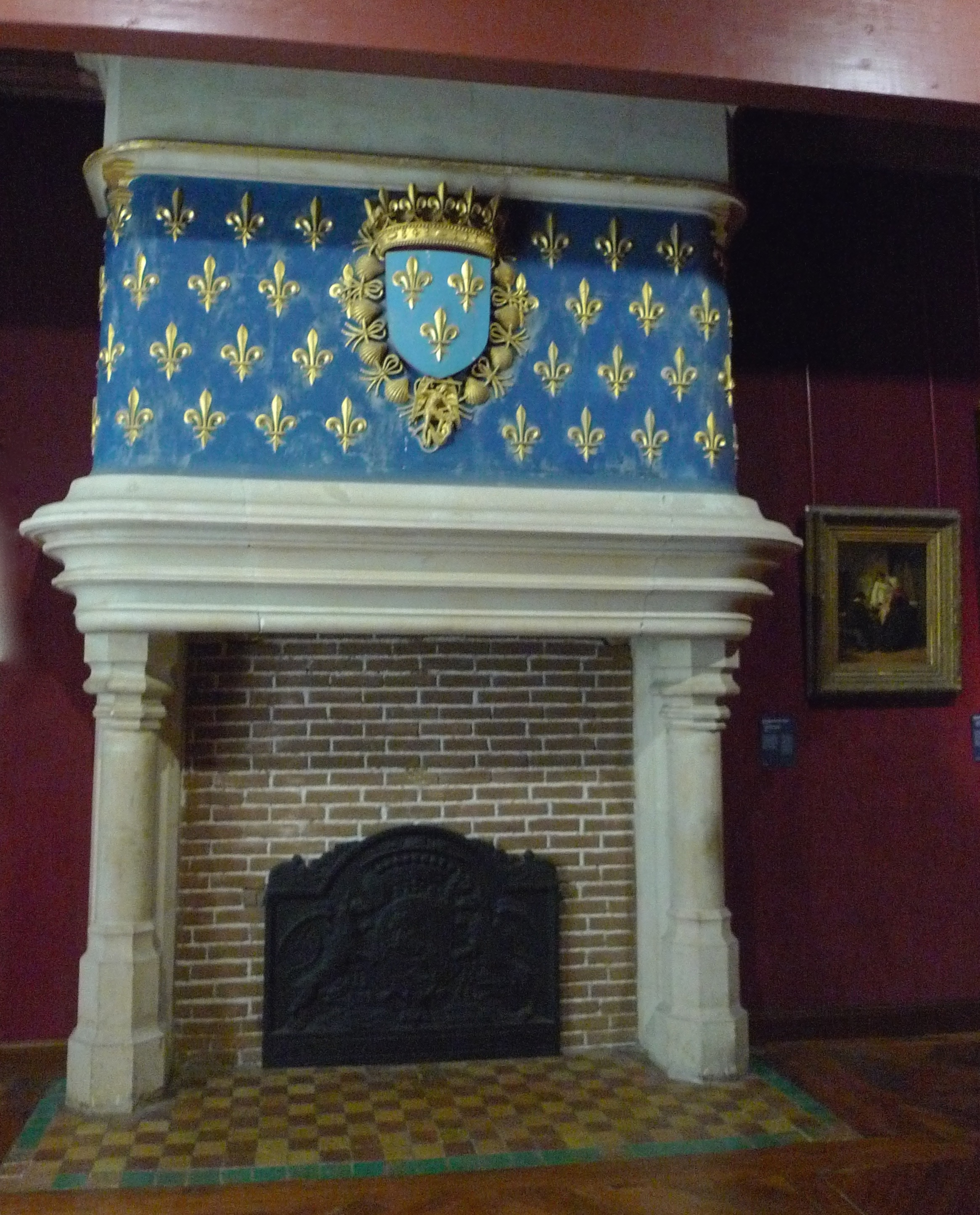 The fireplaces are all similar, but different