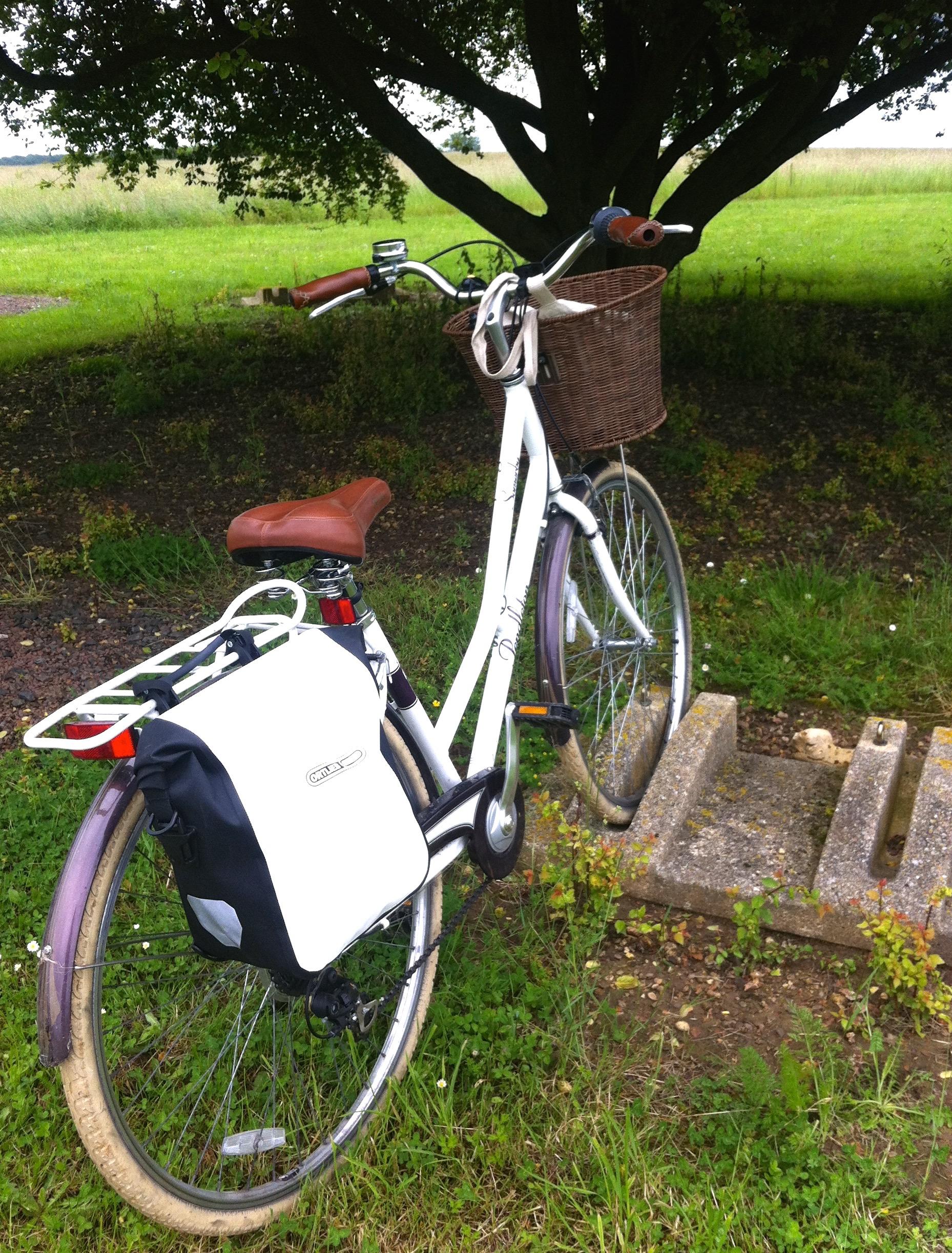 Parking my bike as you do
