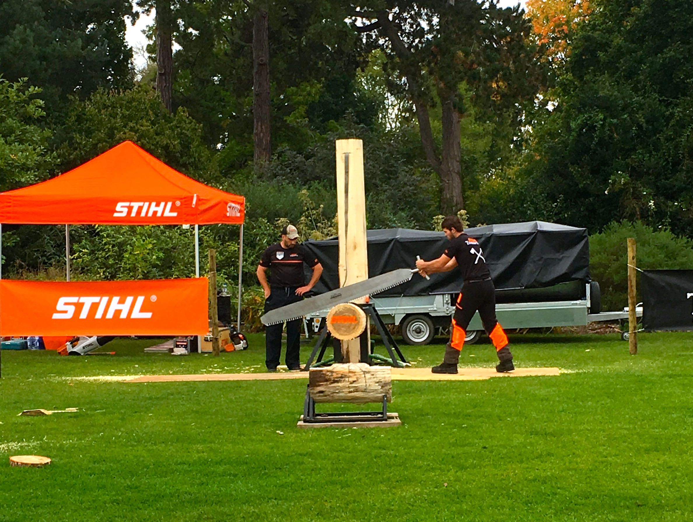 THE STIHL TIMBERSPORTS ROADSHOW