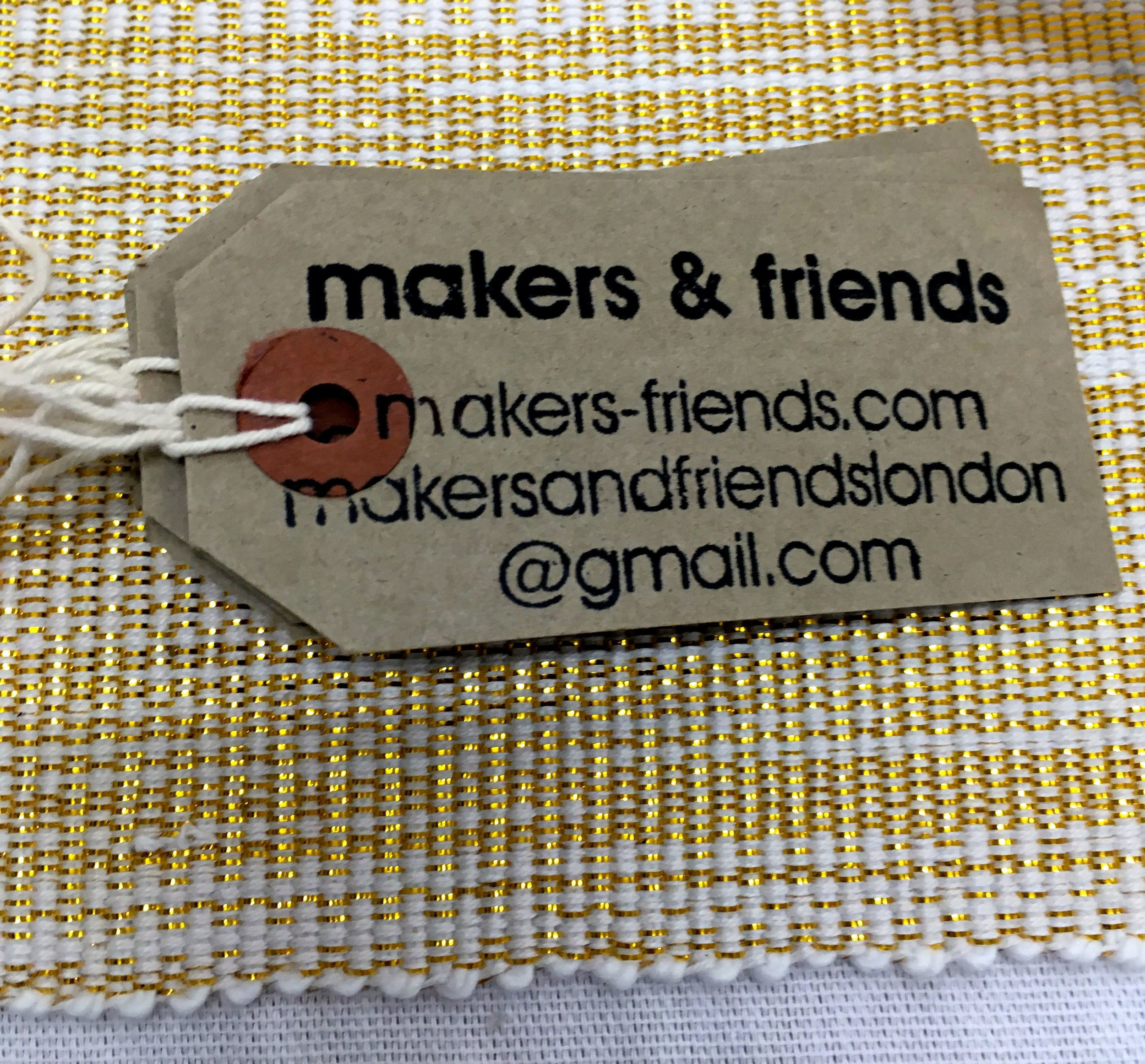 The workshop was hosted by makers and friends who support independent makers