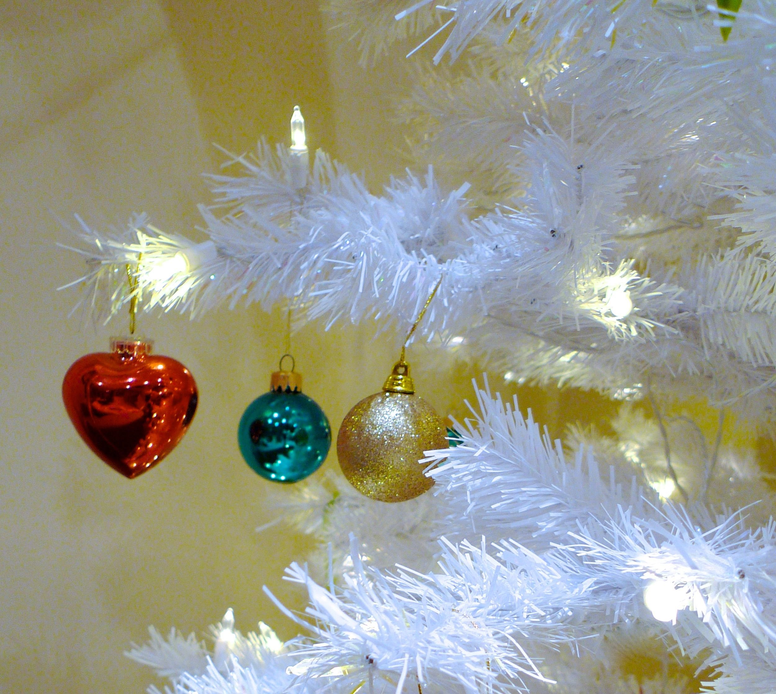sturdy branches holding a multitude of baubles