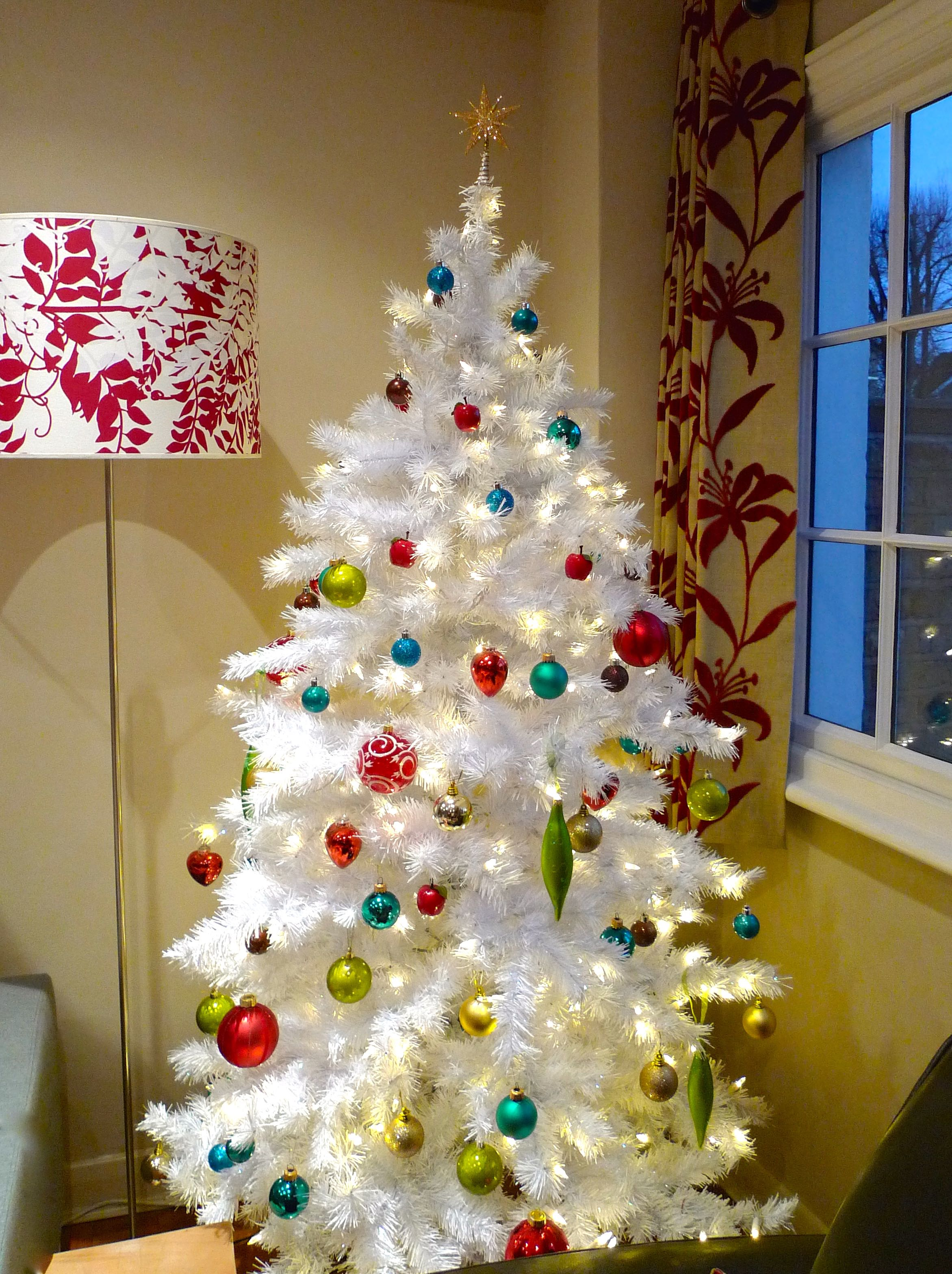 A FULL VIEW OF MY JEWEL COVERED TREE