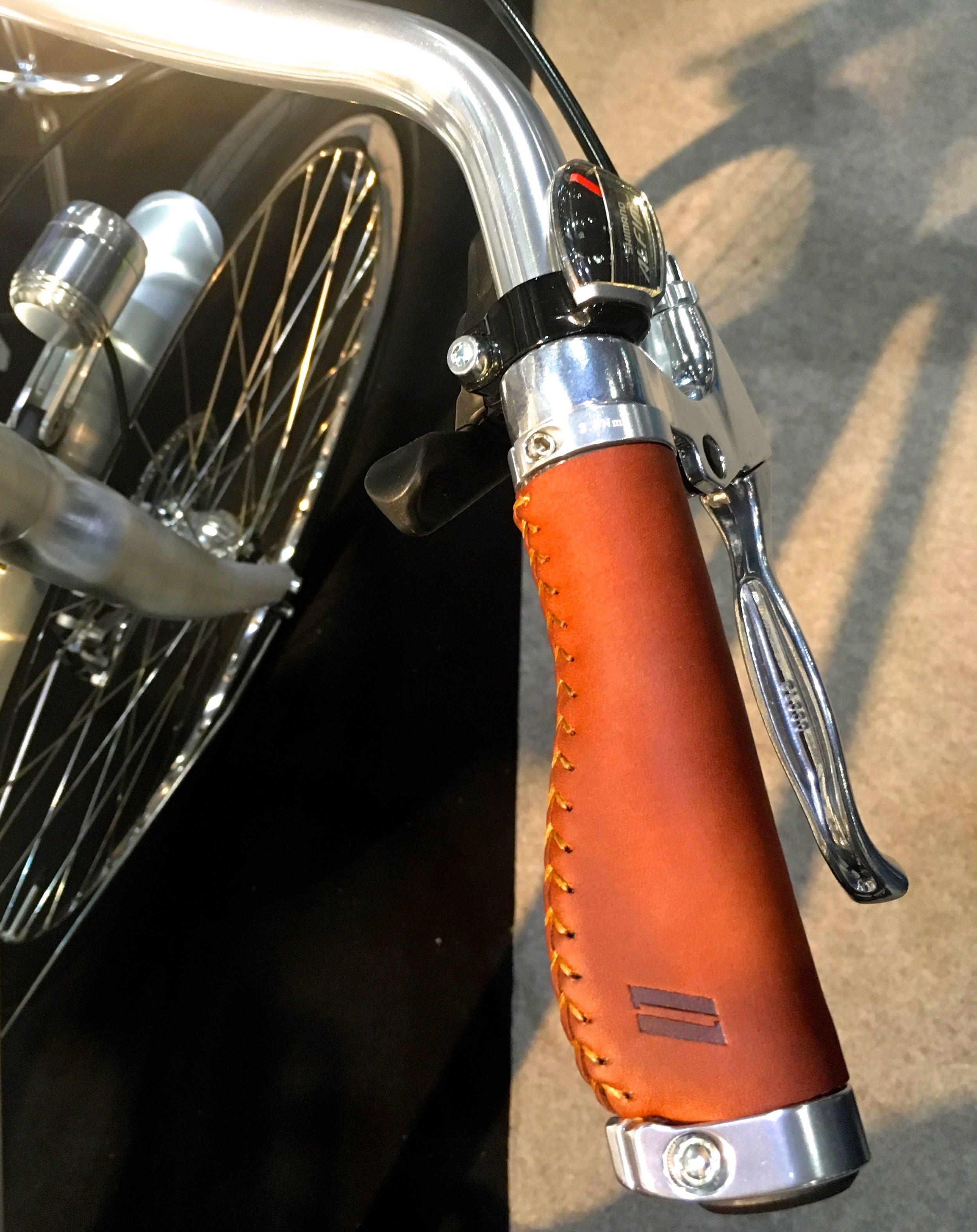 A top of the range bike at the London Bike Show