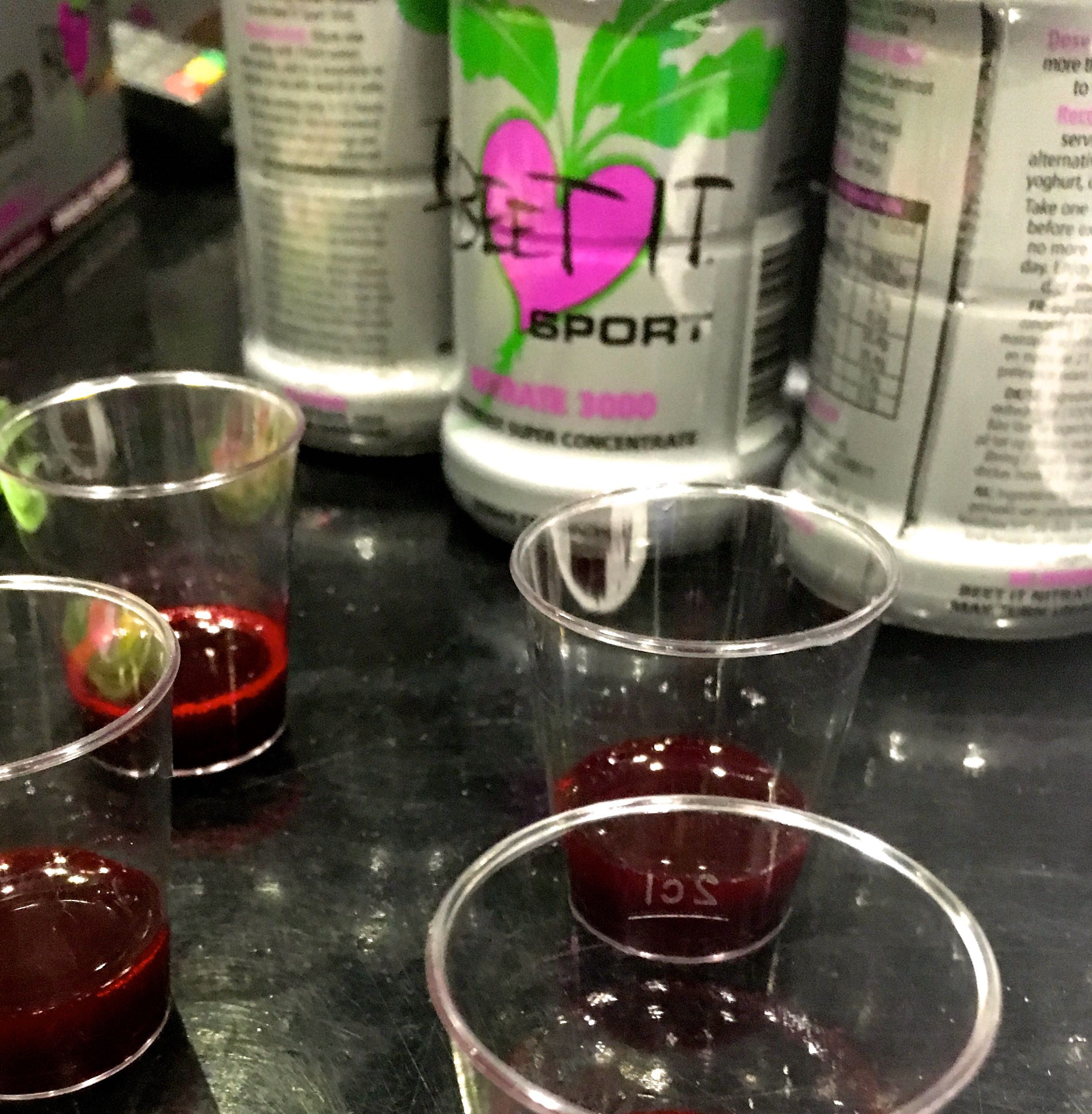 Beet It sports nutrition at the London Bike Show