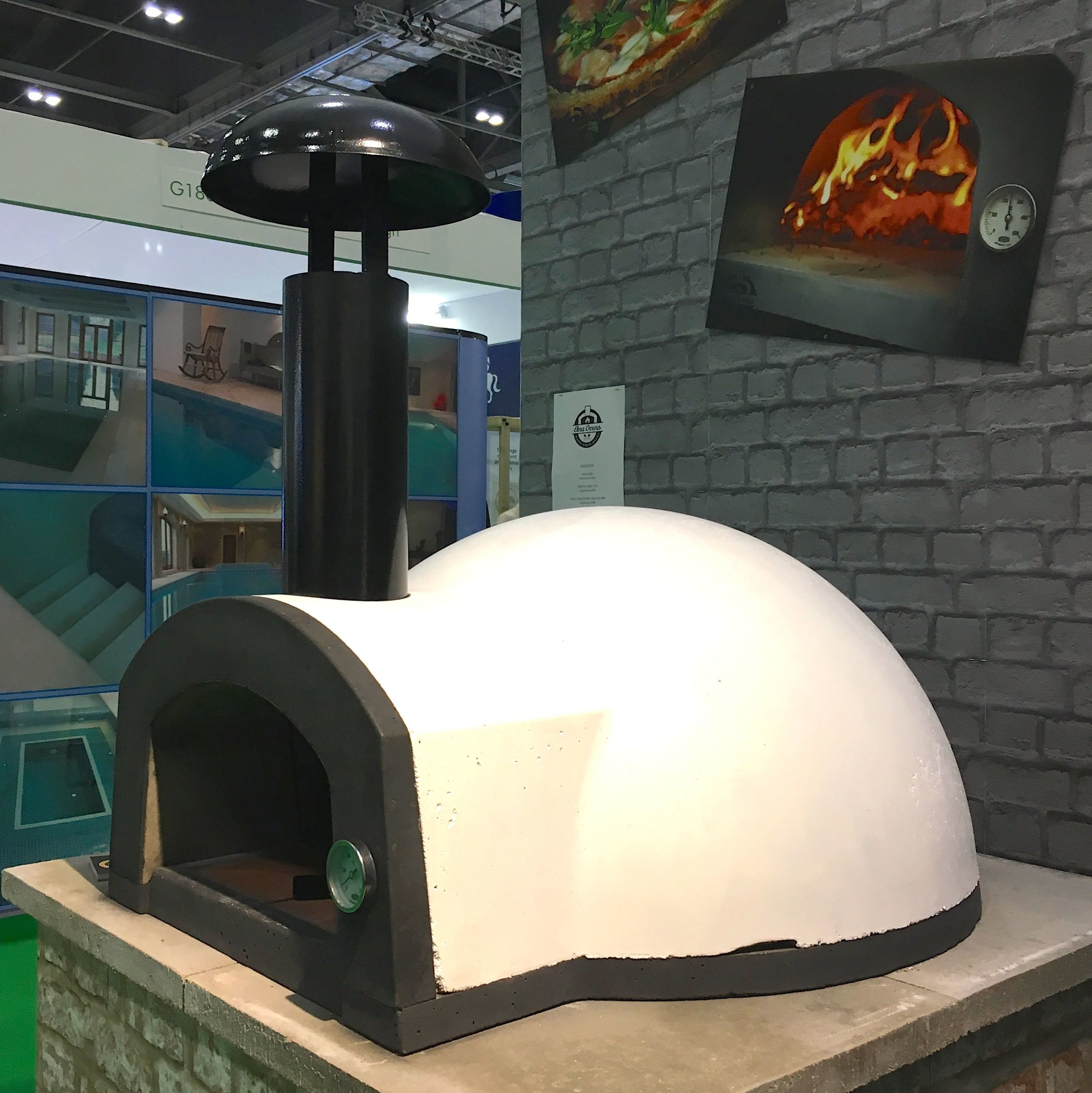 An Etna Ovens traditional pizza oven