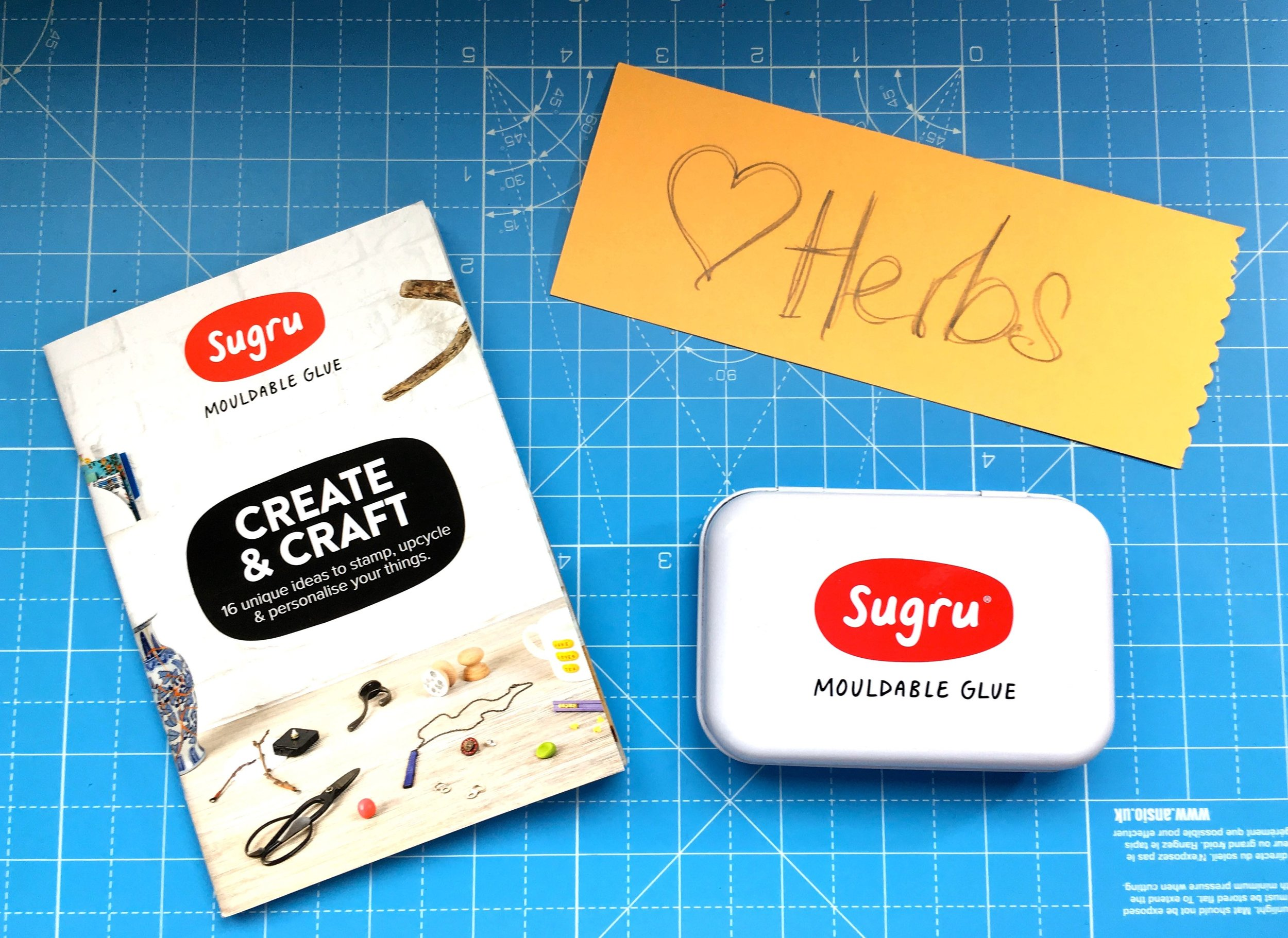 Loving herbs and planning to craft with Sugru the mouldable glue