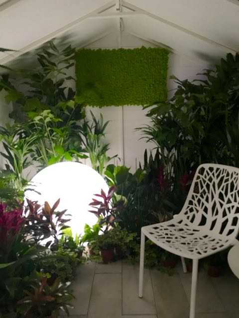 Bringing the Outside in  by Liam Sapsford at Grand Designs Live 2017