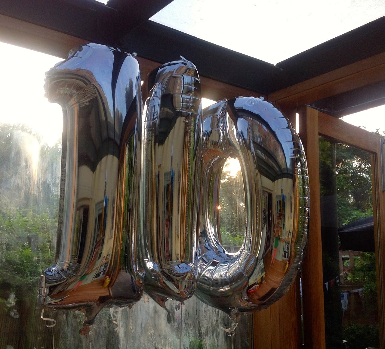 you can't have a party without balloons, can you?