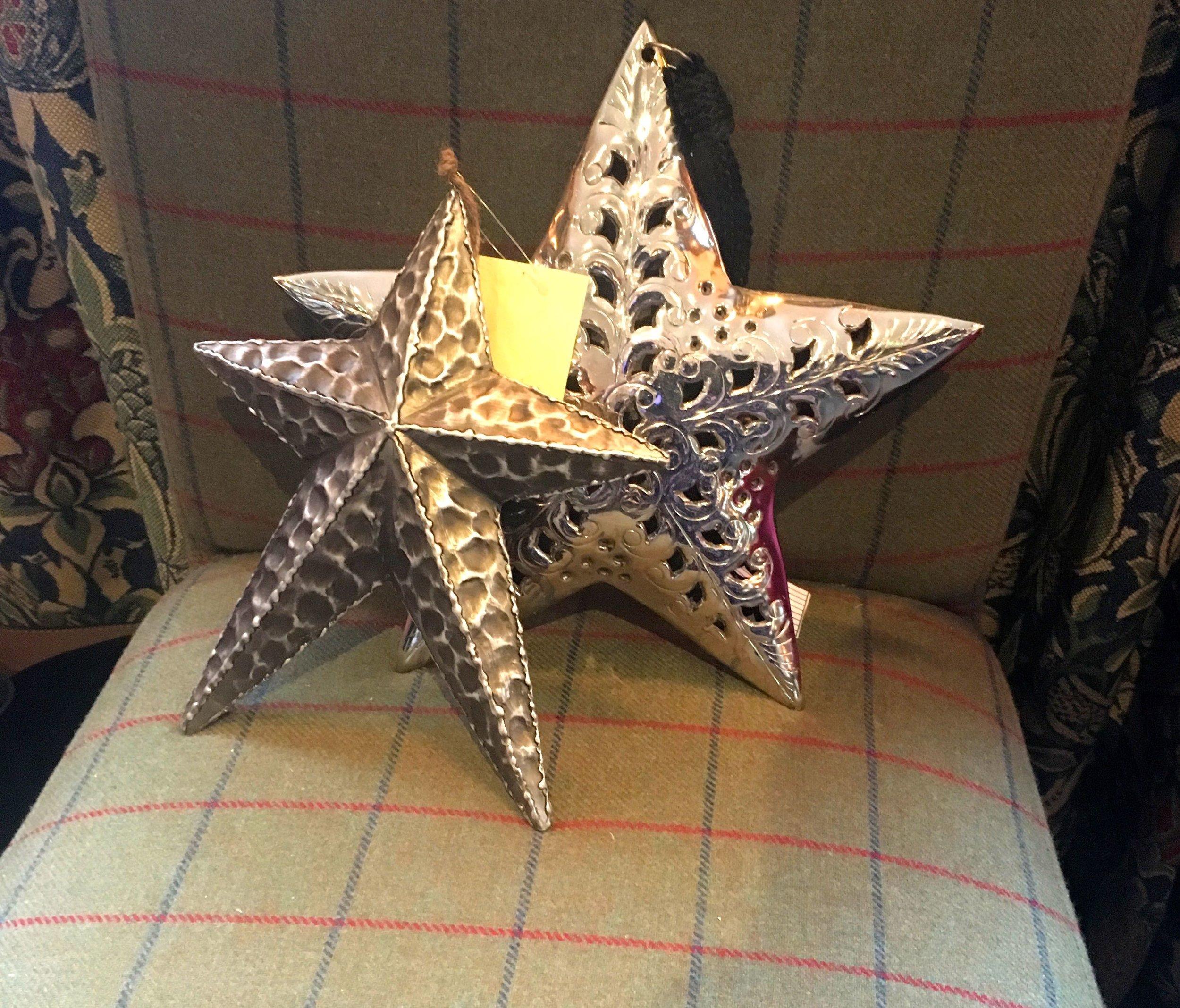 Metal stars from HomeSense