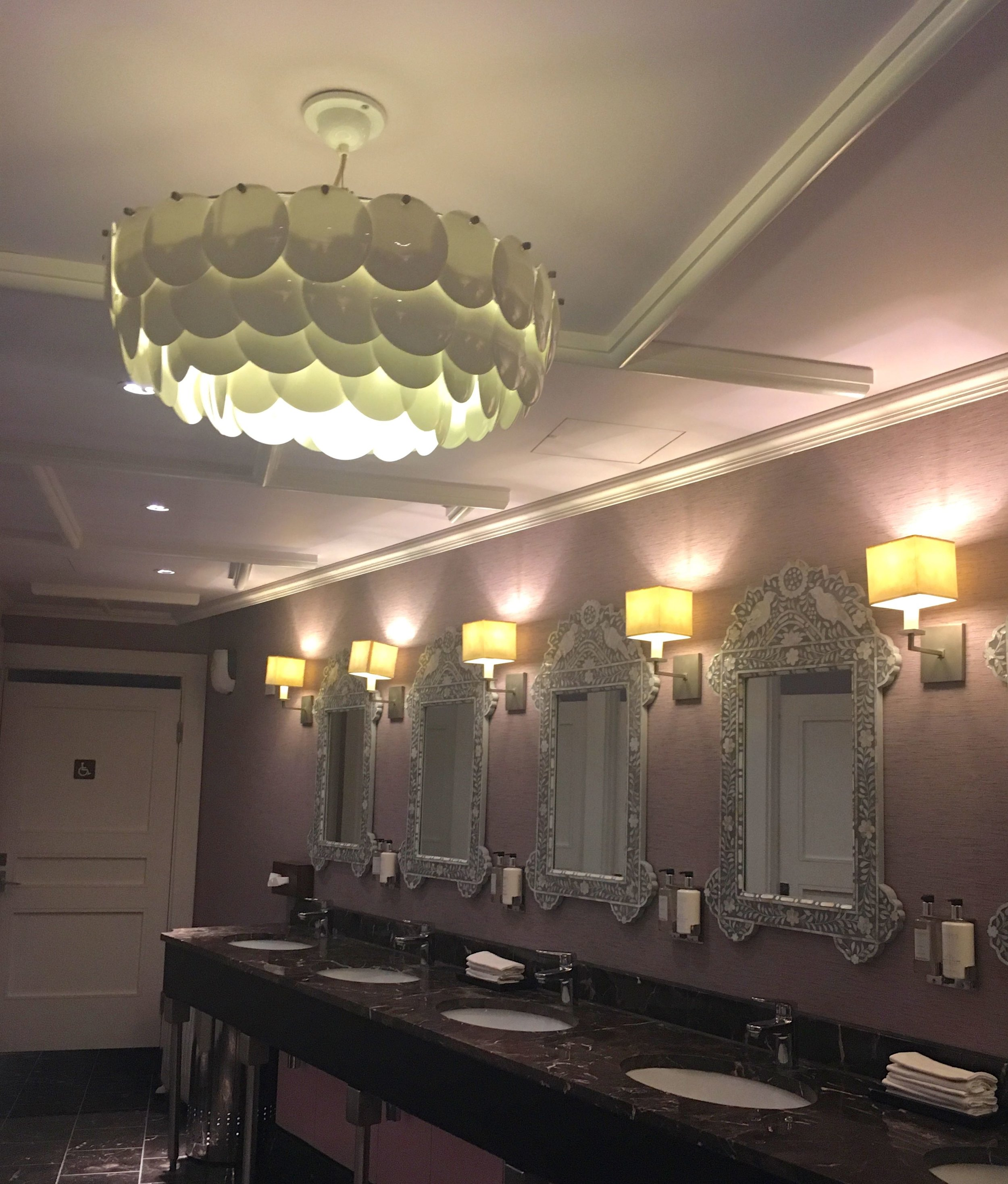 A look into the loos at St Ermin's hotel in London