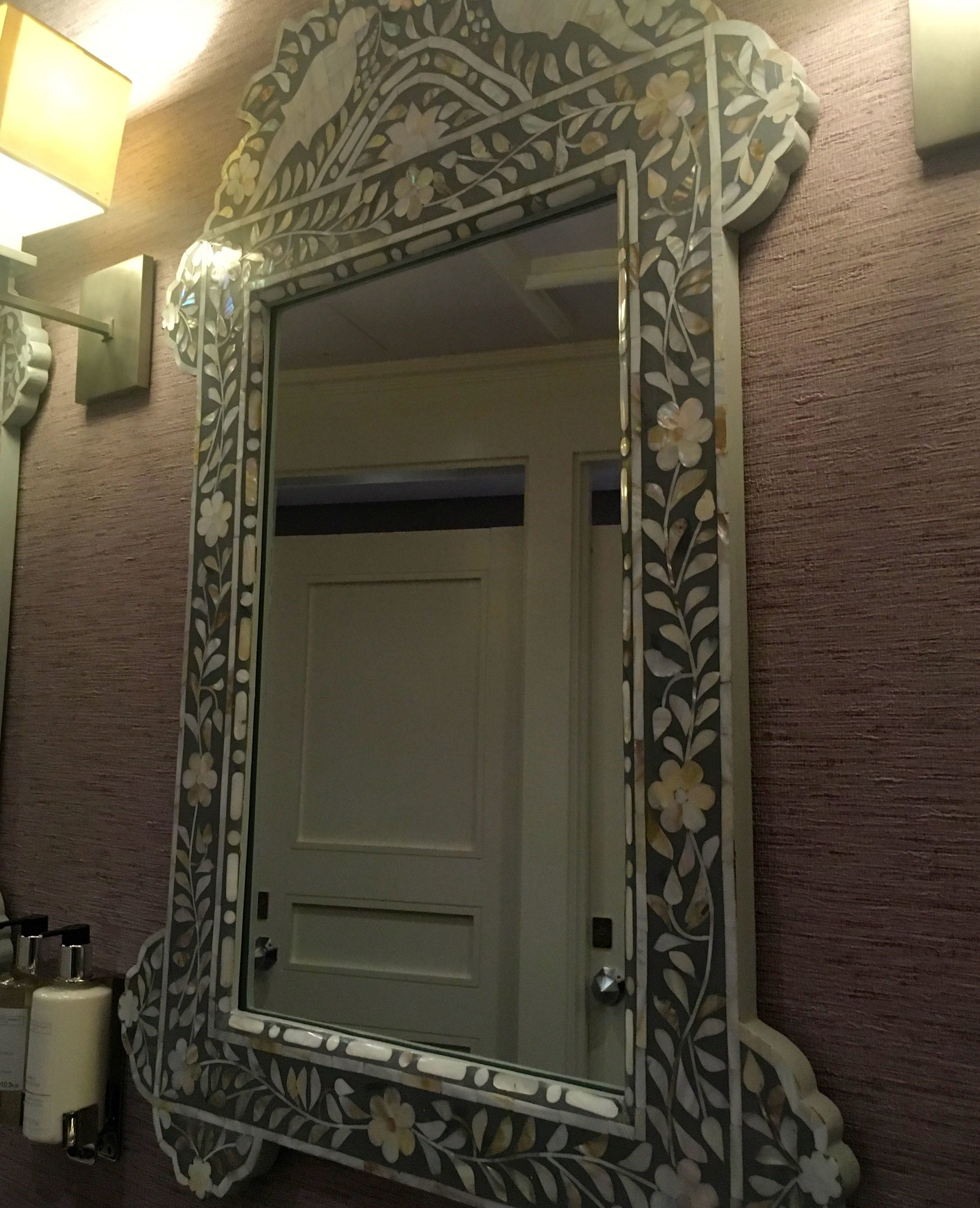 mosiac mirrors at St Ermin's hotel in London
