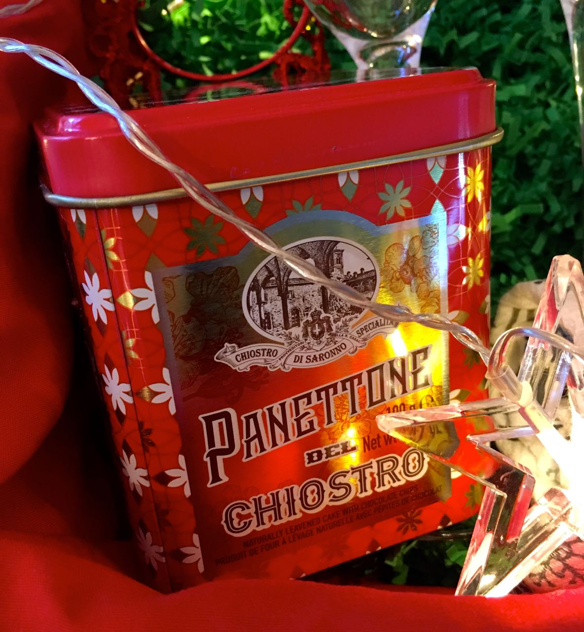 It's not Christmas without panettone is it, mine was from Homesense