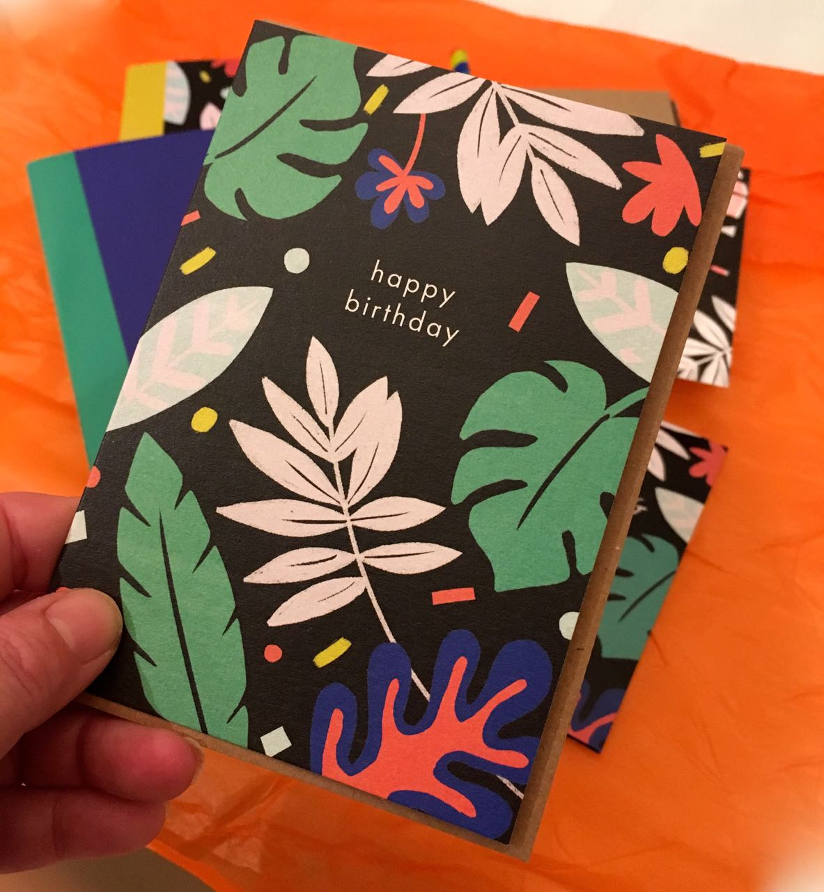 And a card to match too